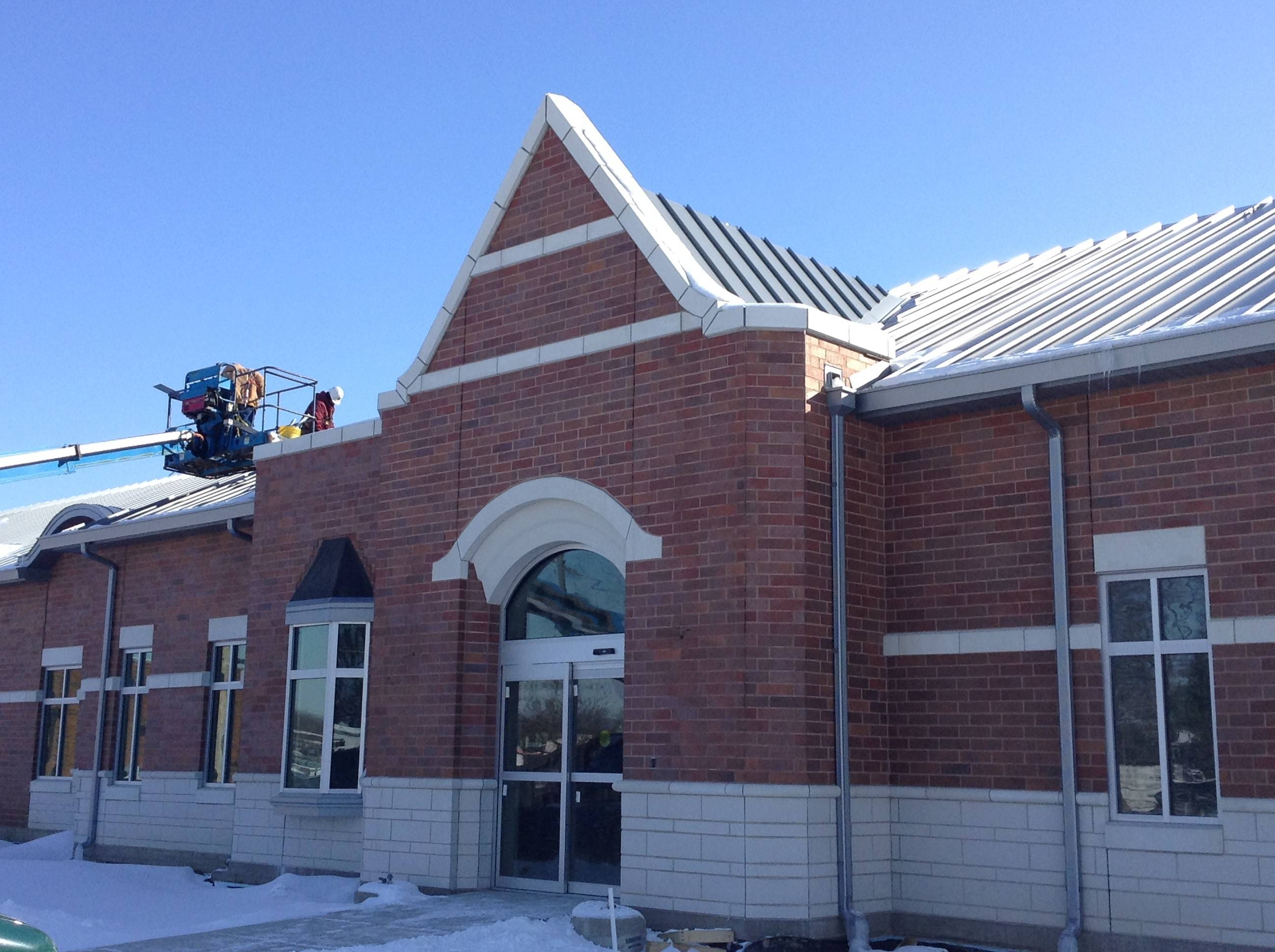 New Mundelein village hall nearing completion