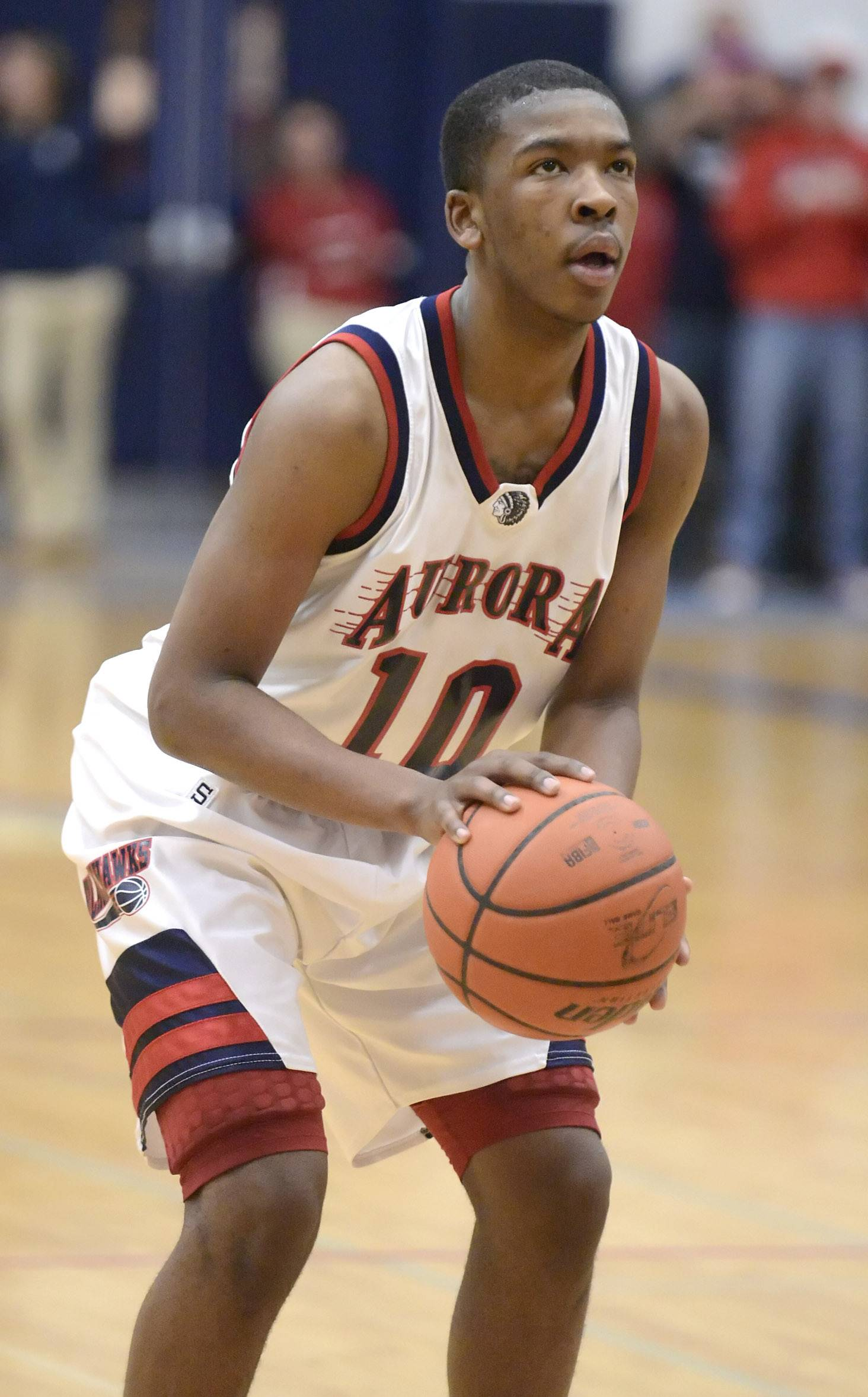 West Aurora's Jontrell Walker has a streak of 30 straight free throws.