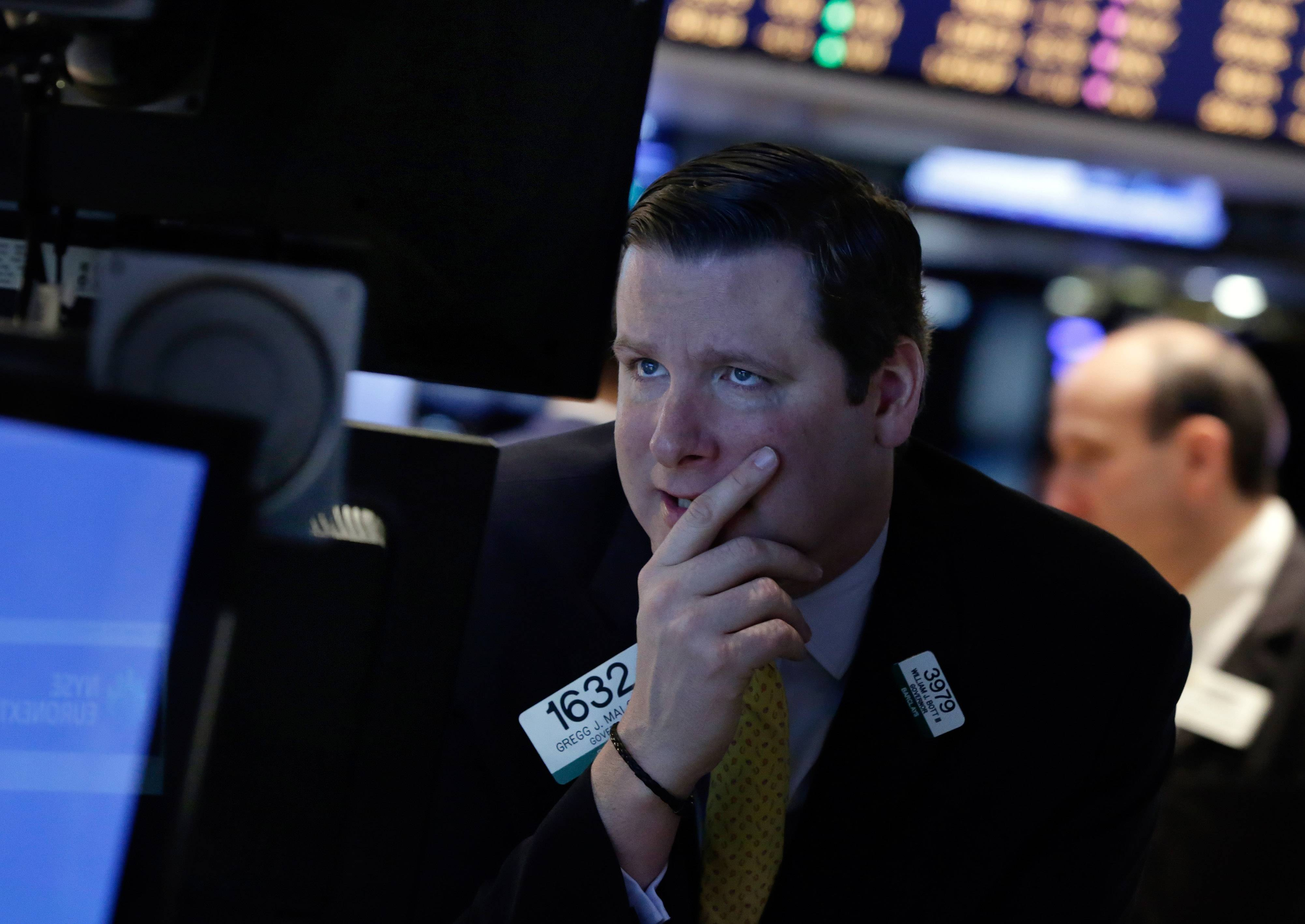 Stocks rose Thursday, sending the Standard & Poor's 500 Index to an all-time high, as data showed jobless claims fell to the lowest level in three months and investors watched developments in Ukraine.