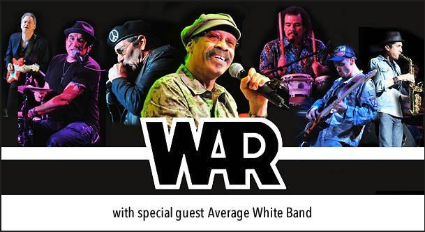 War will perform on Saturday, June 21, at Waukegan's Genesee Theatre.