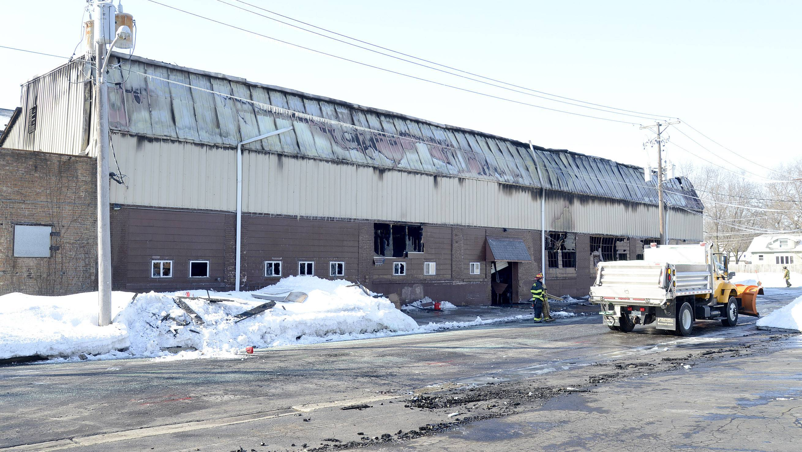 The Batavia Fire Department and Kane County Fire Investigation Task Force were at Master Cast Thursday morning after a fire took the building Wednesday night.