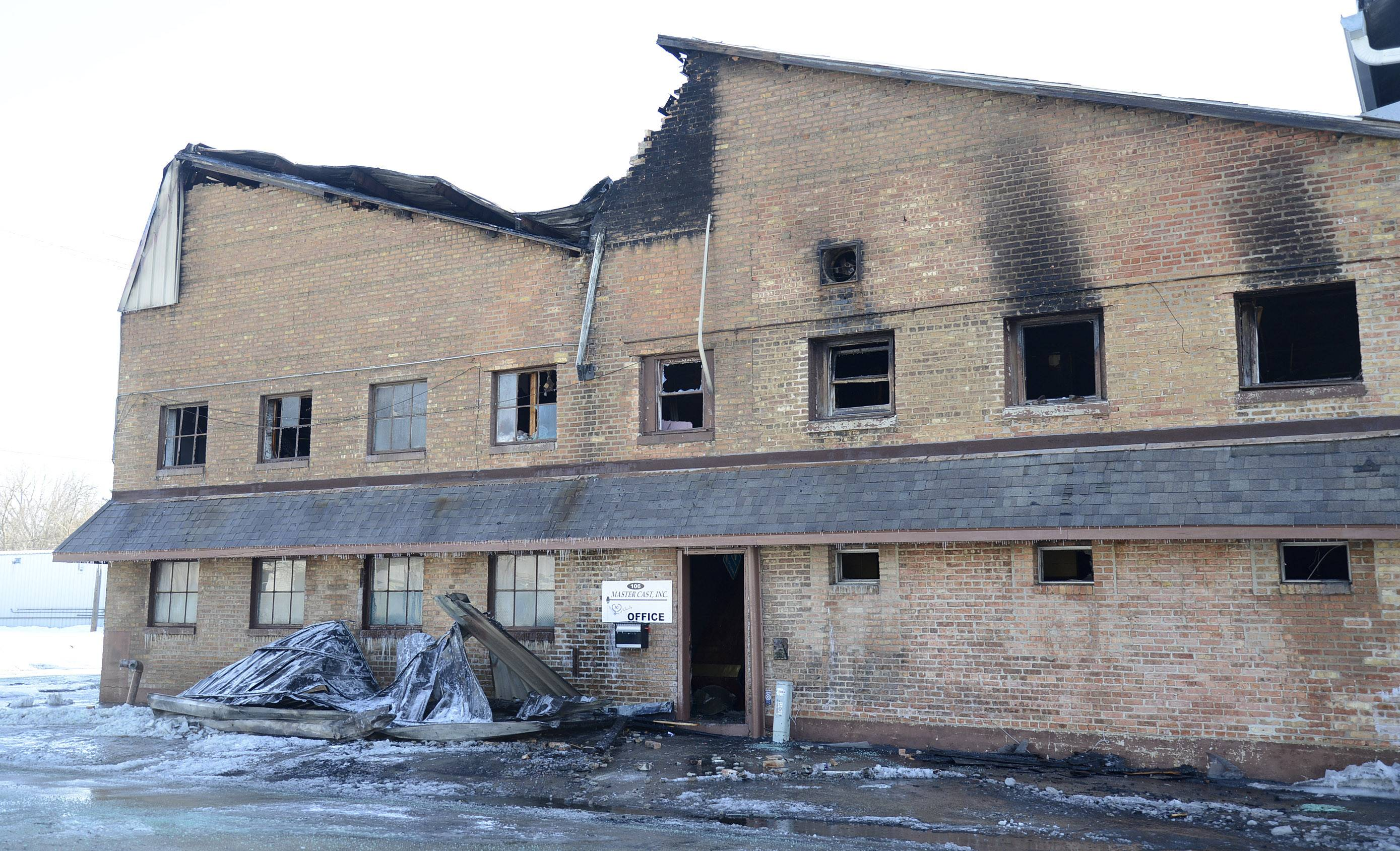 Fire officials continue to investigate a fire that started Wednesday night at Master Cast in Batavia.