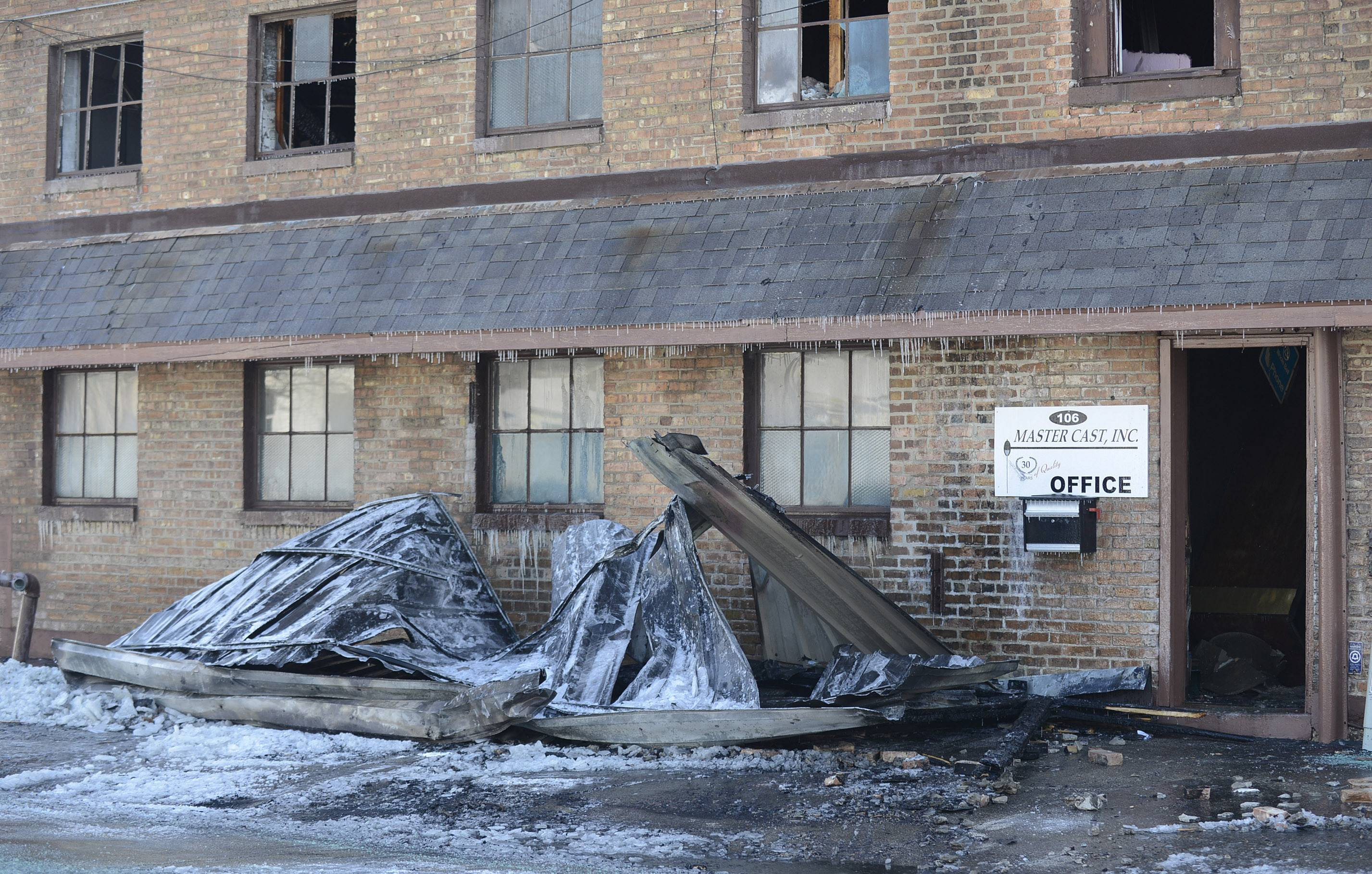 The investigation continued Thursday into what caused the fire Wednesday night at Master Cast in Batavia.