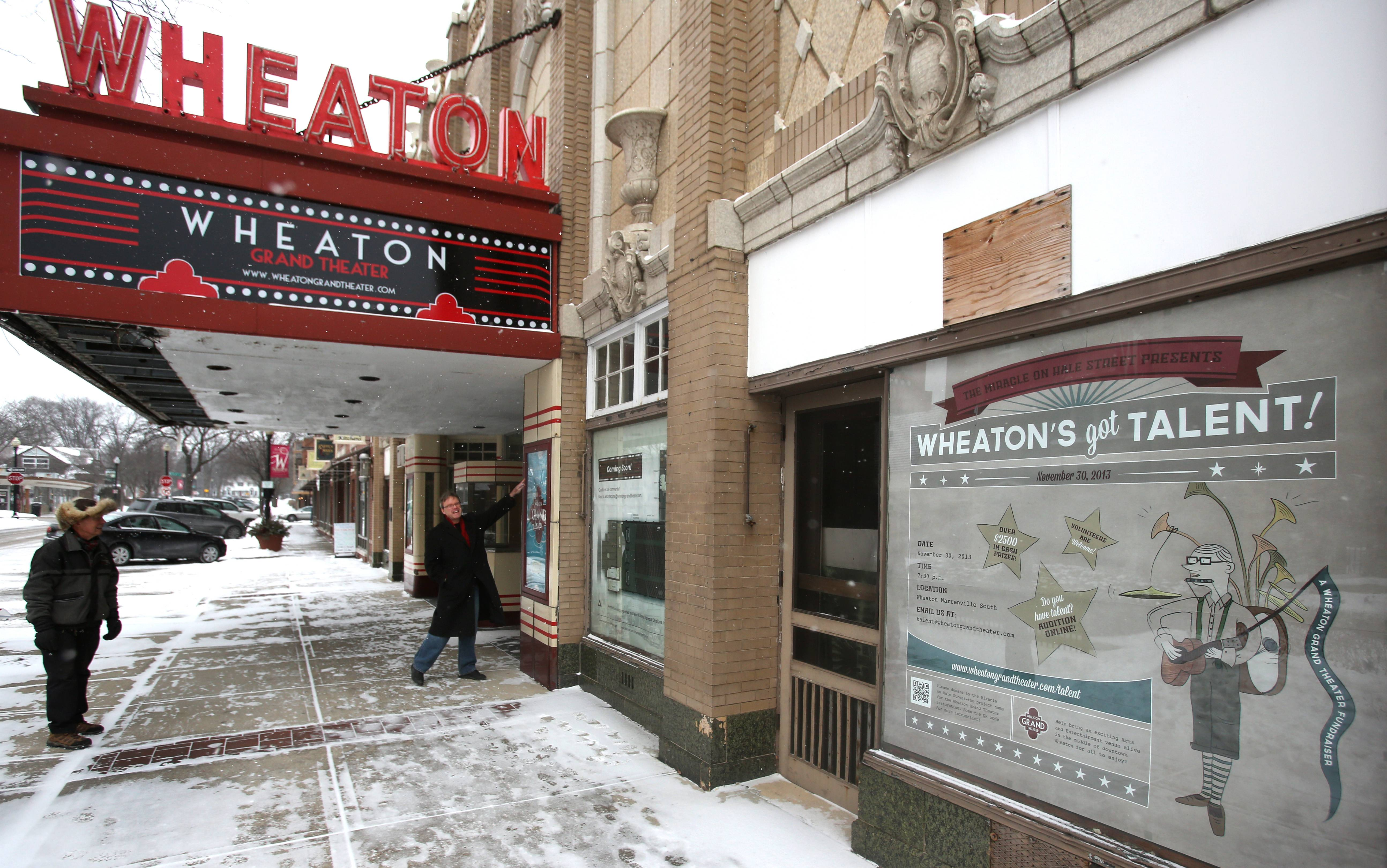 "A ""Wheaton's Got Talent"" show was held to raise money to restore the Wheaton Grand Theater."