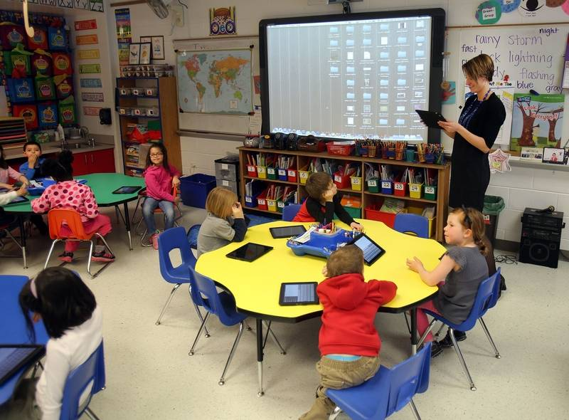 Elementary Classrooms Technology Use ~ Teacher chosen to attend prestigious apple training in