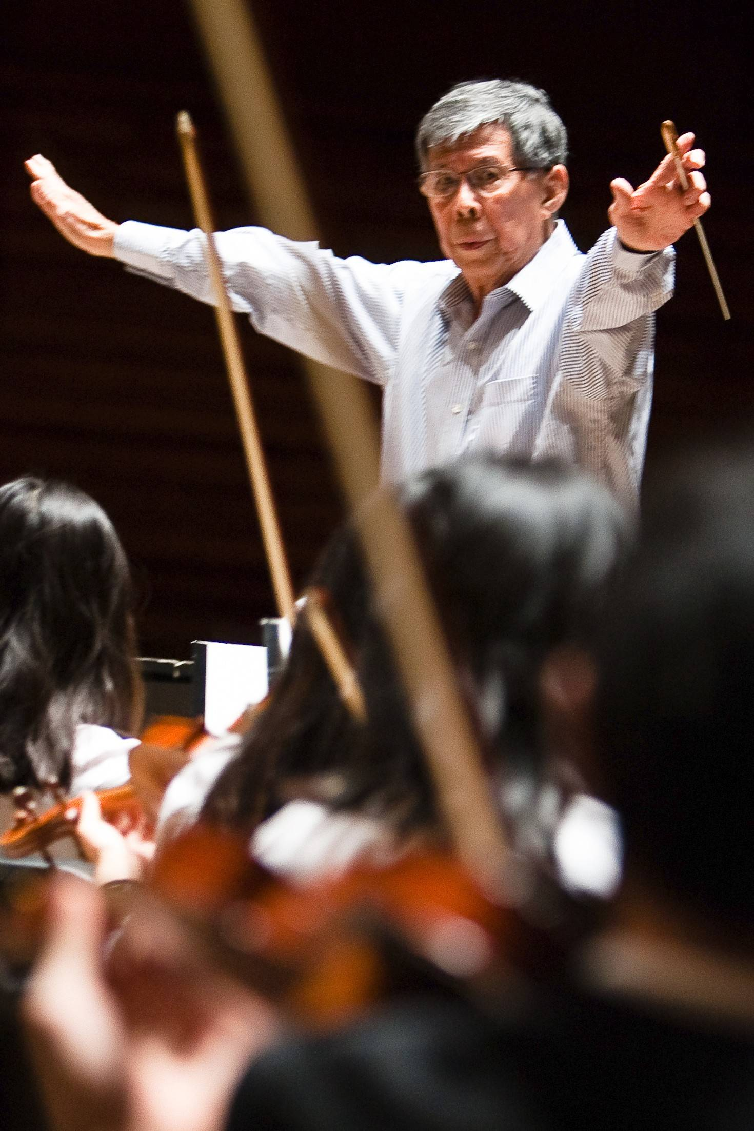 "Meng-Kong Tham has served as music director of the Youth Symphony of DuPage for 37 years. ""This is such a wonderful opportunity for hundreds of kids to play music of Mozart and Beethoven,"" he says."