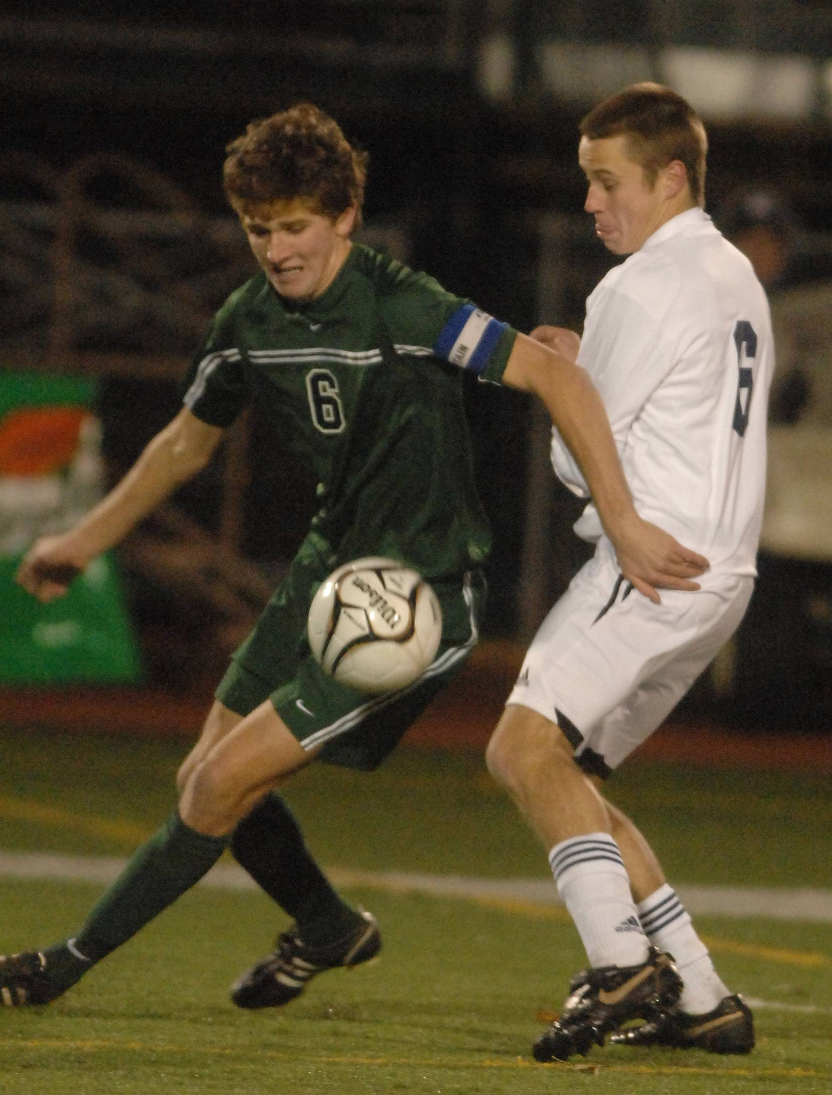 New Trier standout Chris Ritter, left, was one of two local players to sign with the Chicago Fire in the off-season as part of its training academy and development program.