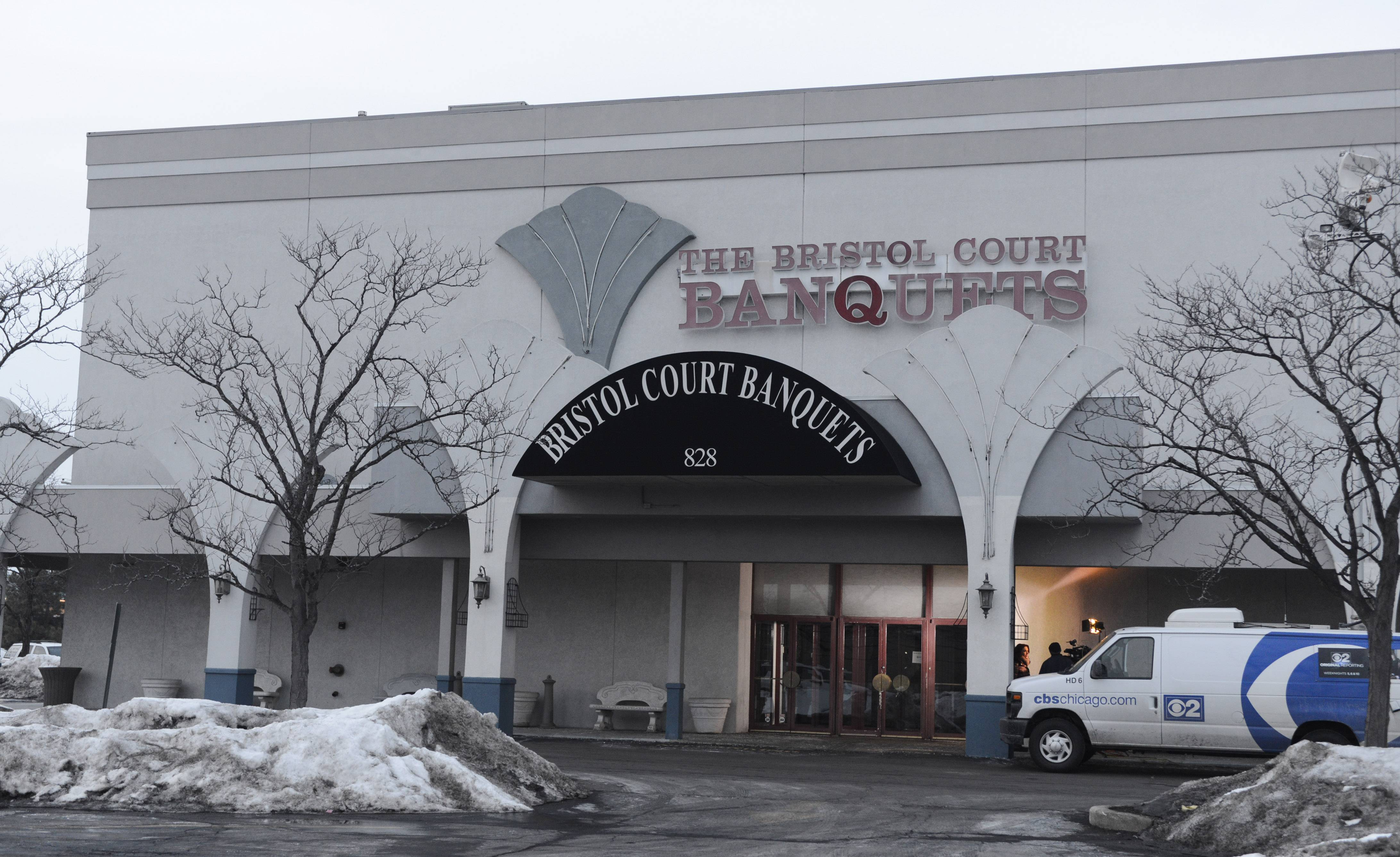Bristol Court Banquets in Mount Prospect is believed to have been closed Tuesday. Its phone number and website are no longer working.