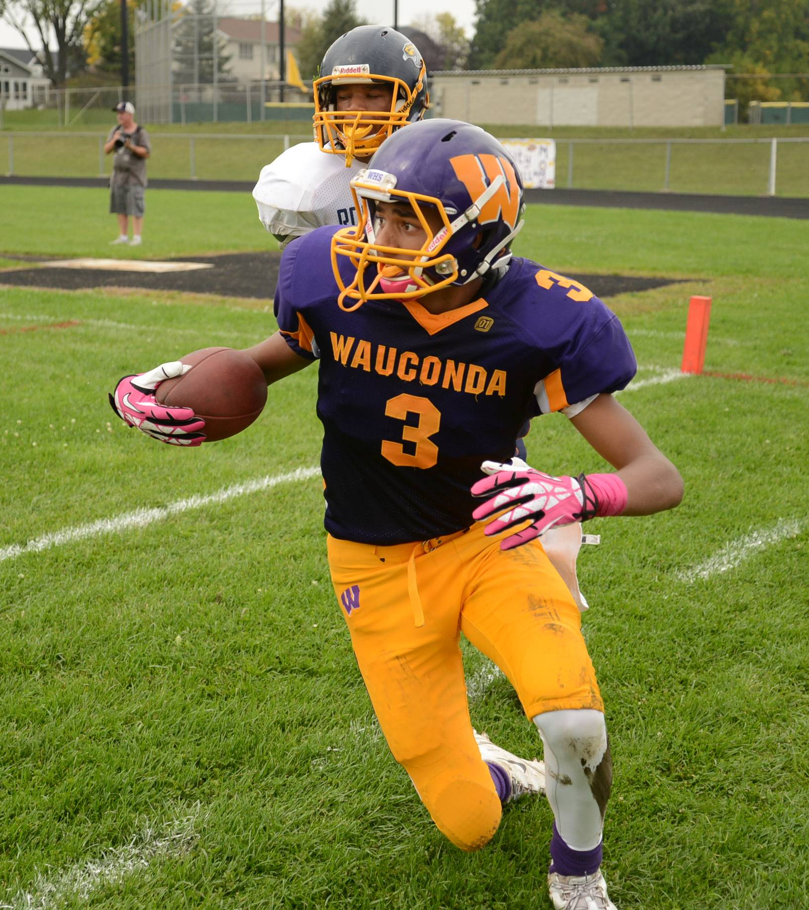 Wauconda High School's football field will be replaced with artificial turf this year.