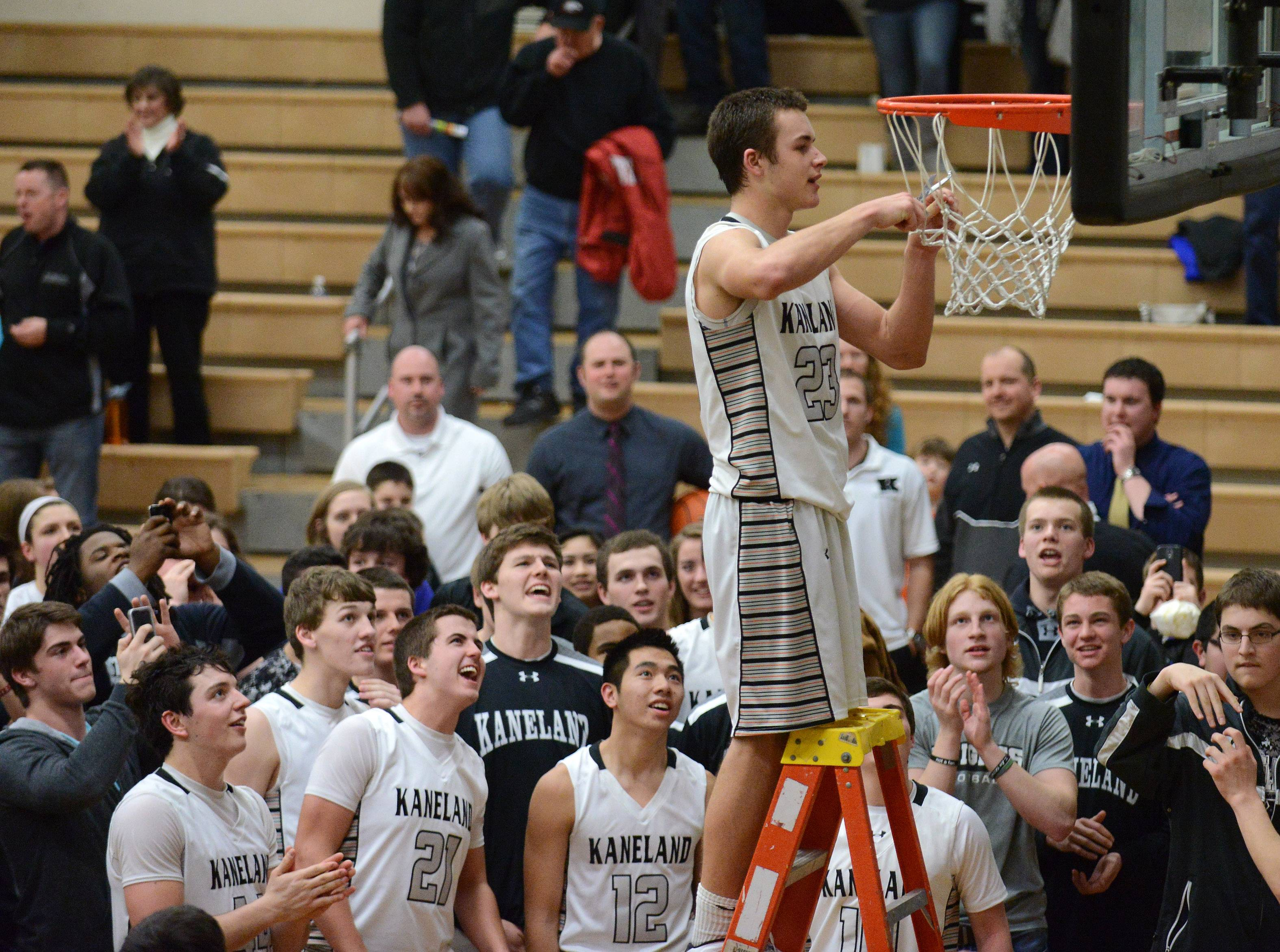 Images from the Kaneland vs. Marmion regional boys basketball title game Friday, March 7, 2014 in Maple Park.