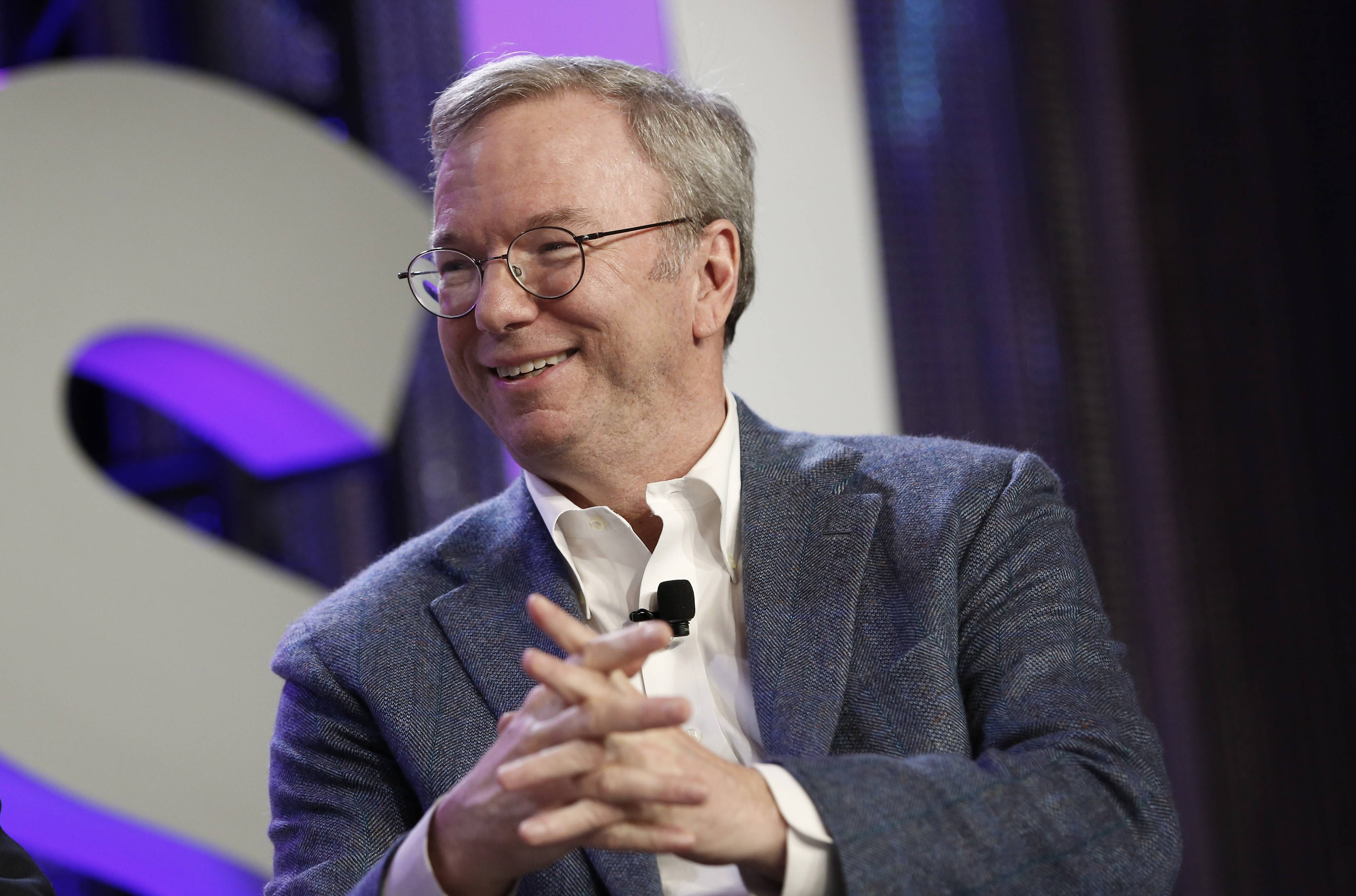 "Eric Schmidt, executive chairman of Google Inc., said his company is experimenting with automation in ways that will ""replace a lot of the repetitive behavior in our lives."""