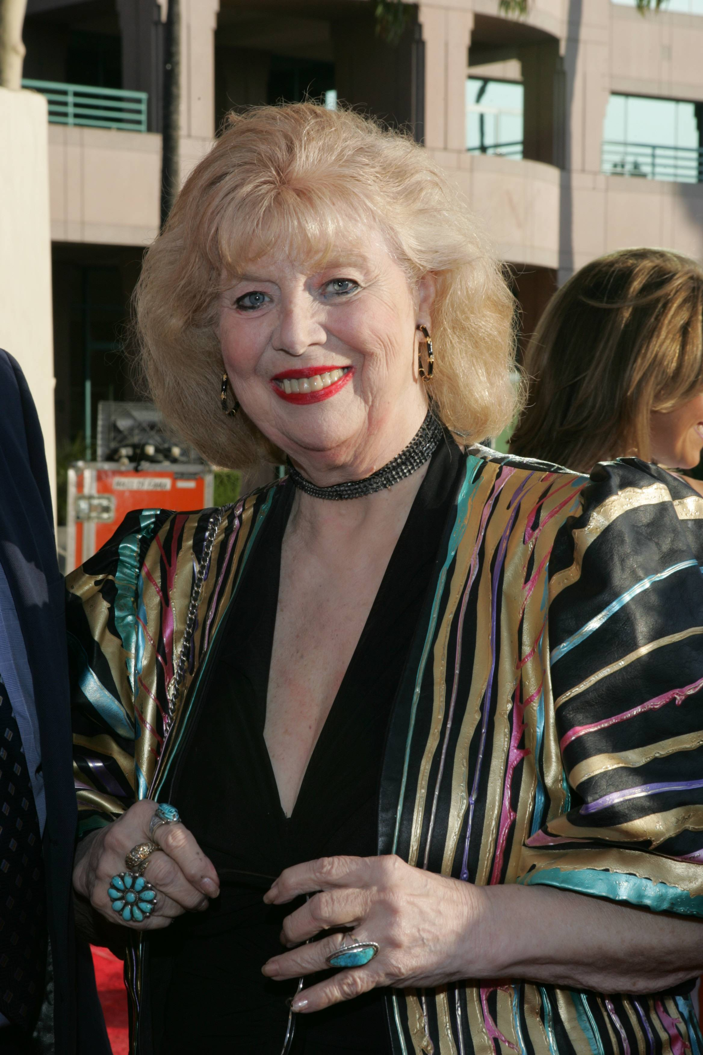 Sheila MacRae arriving at the 16th Hall of Fame induction ceremony in Los Angeles.