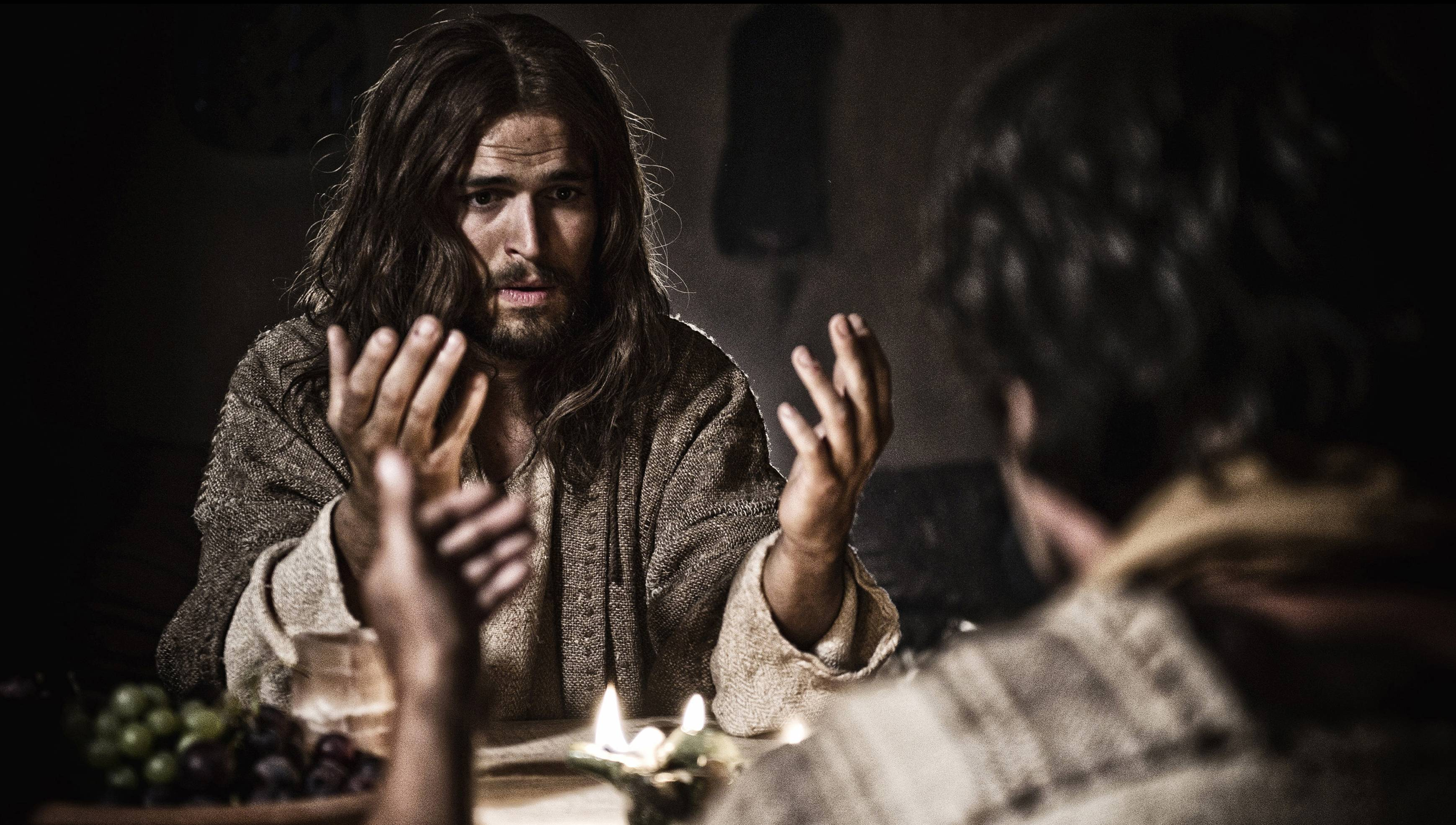 "Diogo Morgado stars as Jesus in ""Son of God."""