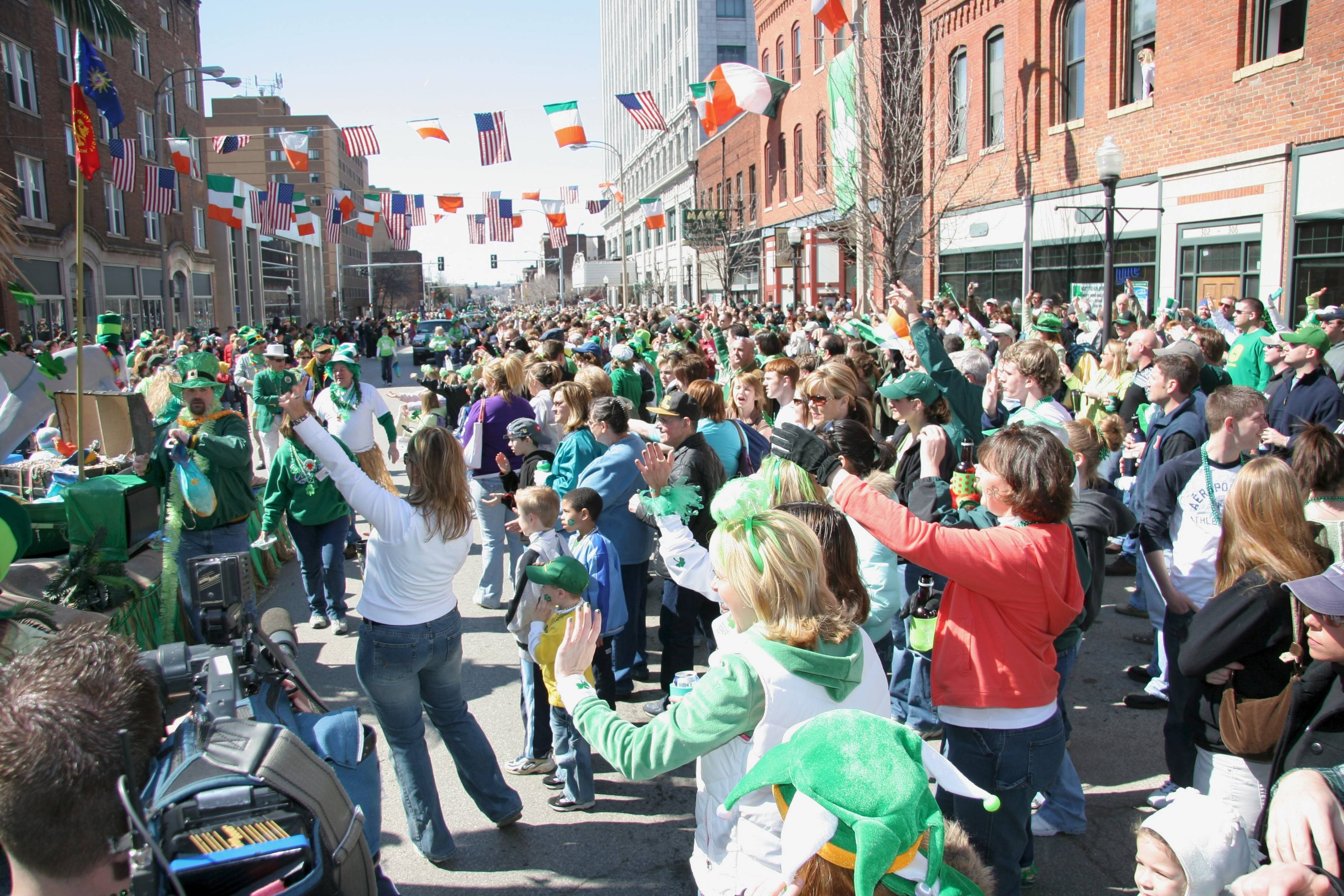 The nation's only interstate St. Patrick's Day Parade on Saturday, March 15, snakes through the Quad Cities and offers lots of weekend activities for visitors.