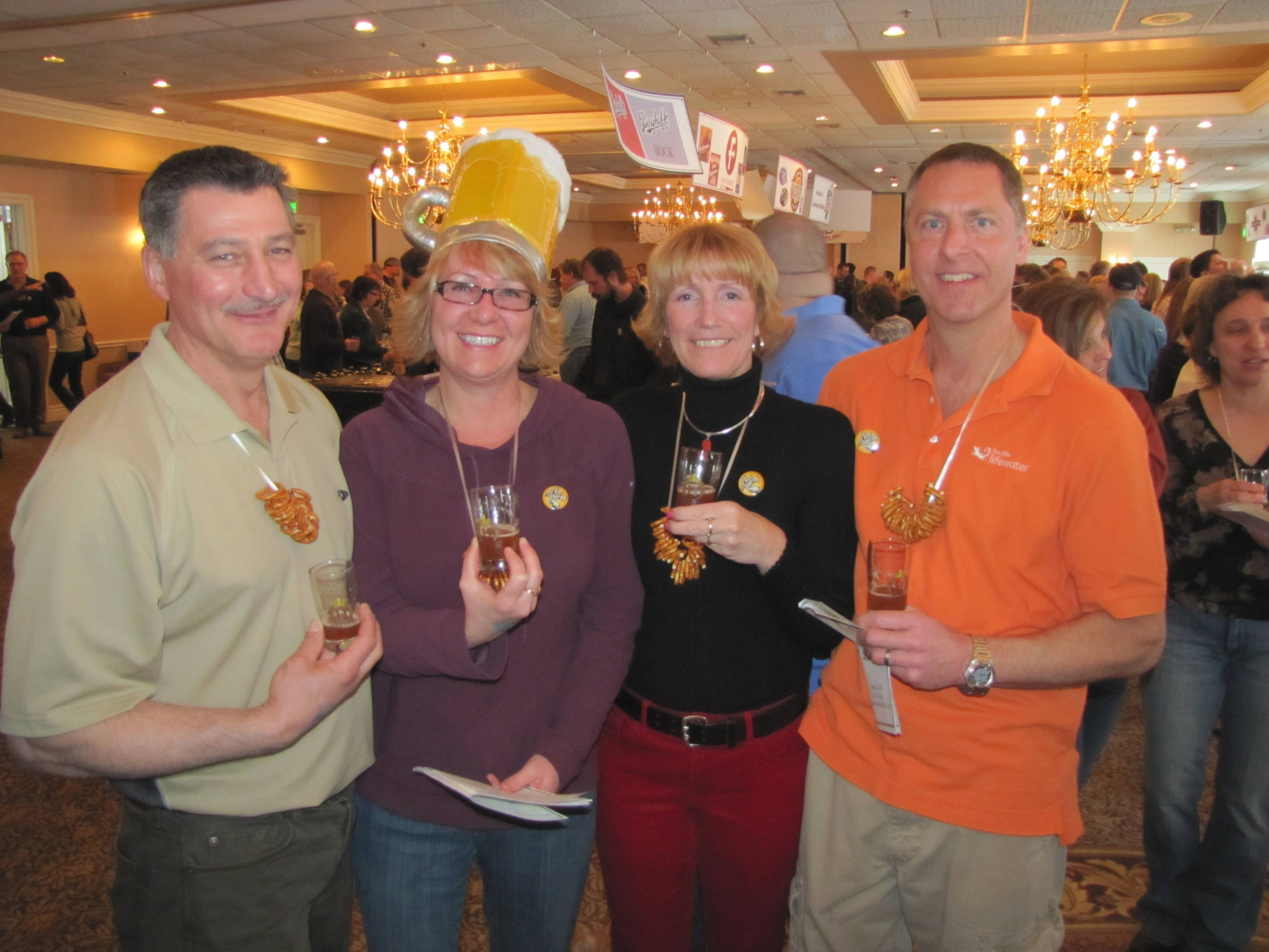 It's nothing but brewskies at the 3rd annual Heidel House Brew Fest in Green Lake, Wis., March 22.