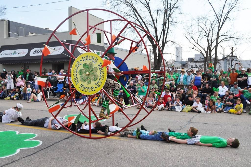 Downtown New London, Wis., features a week of Irish celebration every year -- March 17-22.