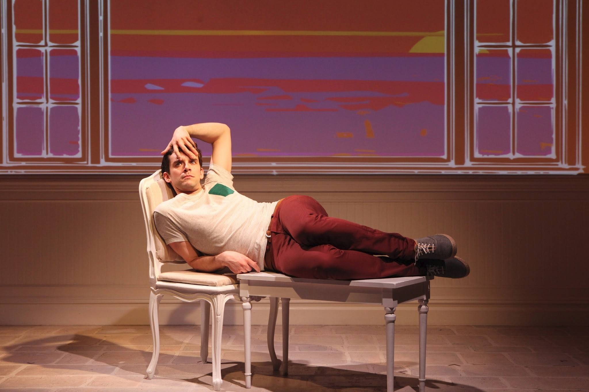 "Michael Urie comes to Chicago's Broadway Playhouse at Water Tower Place in May with the one-man show ""Buyer & Cellar."""