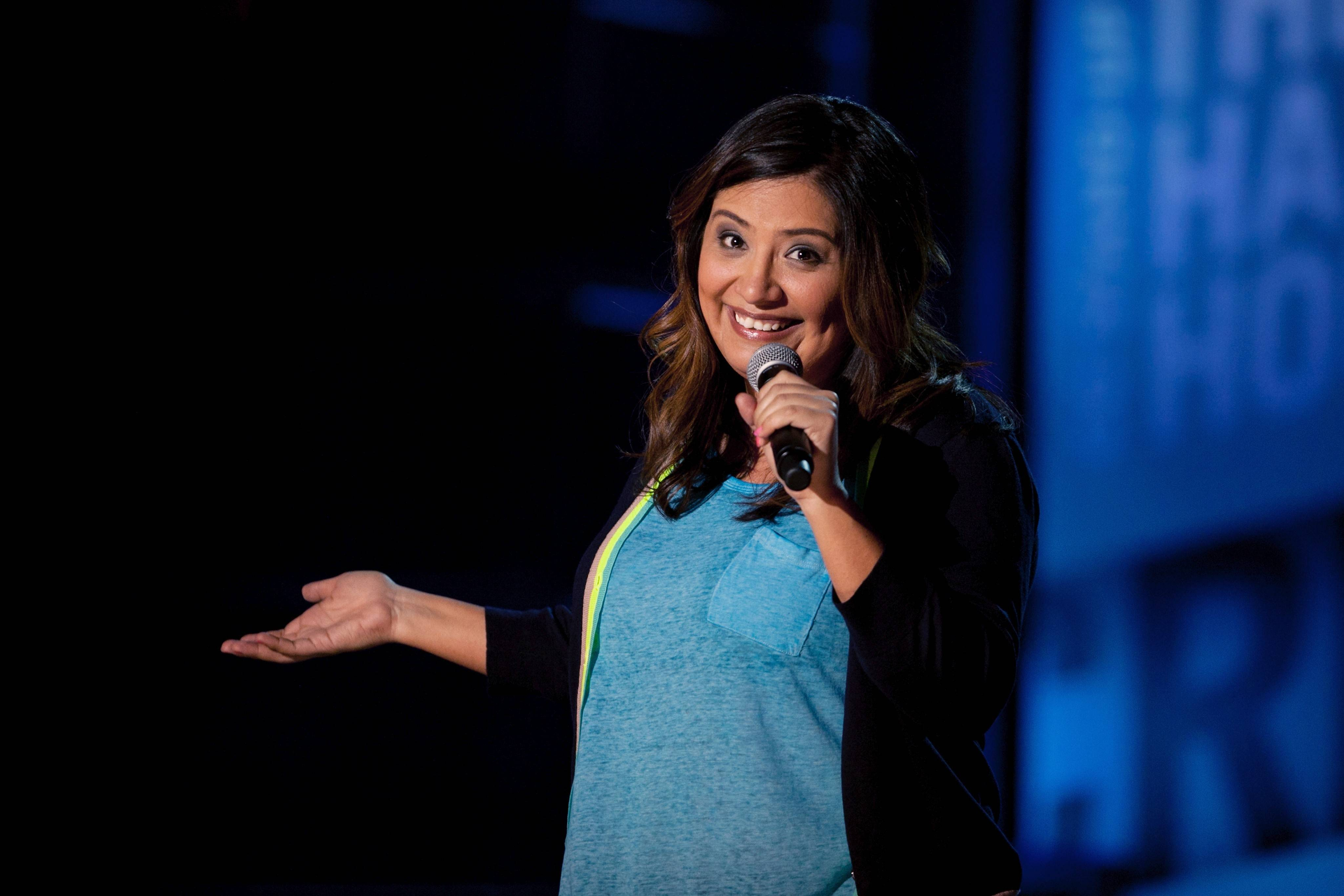 "Comedian Cristela Alonzo (seen here in Comedy Central's ""The Half Hour"") performs at Zanies at MB Financial Park in Rosemont from through Saturday, March 8."
