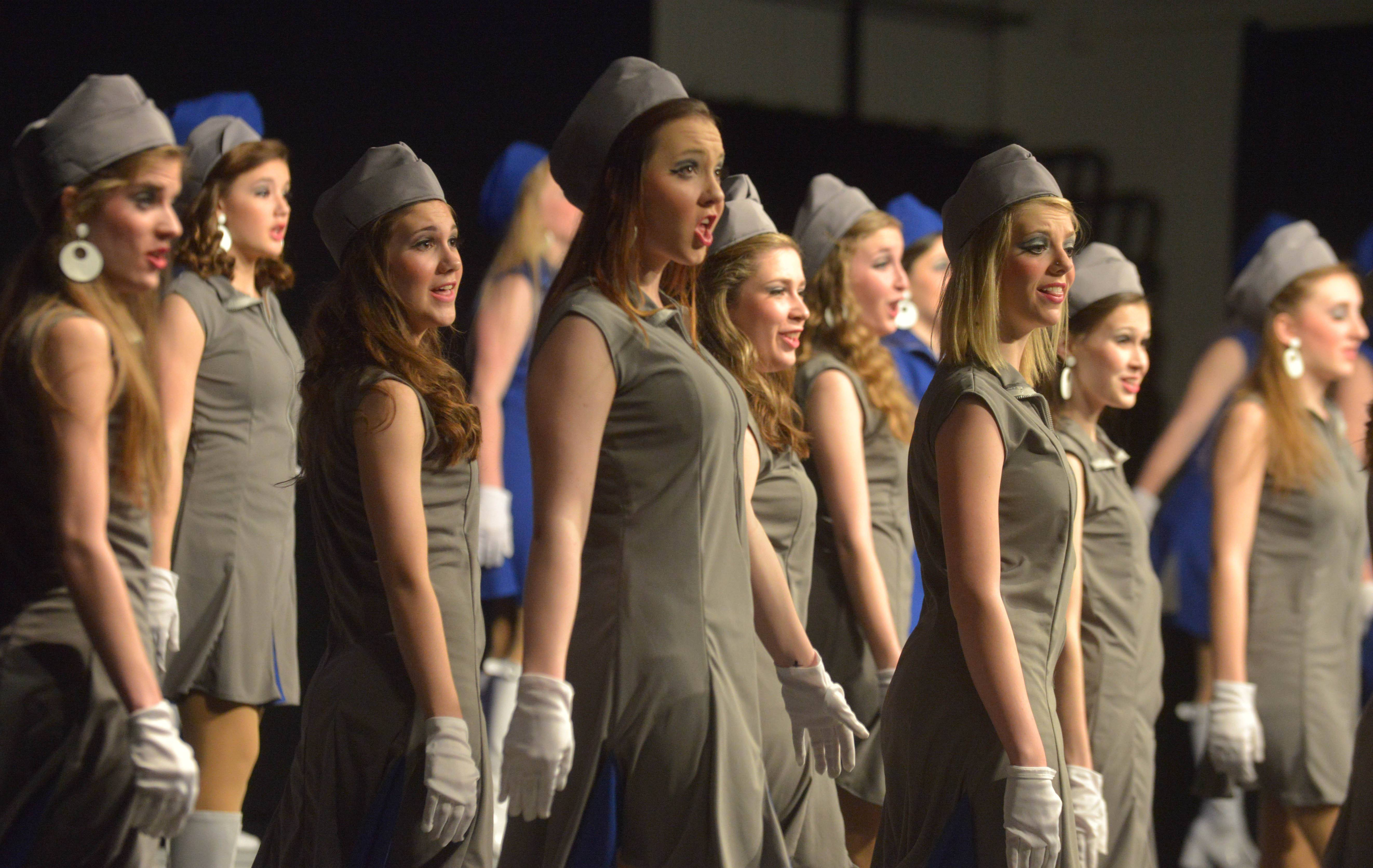 New Mexico's Eldorado High School took part in the 7th annual Choral Classic Invitational Saturday in Wheaton. Thirty middle schools and high schools from 11 states participated in the two-day show choir and vocal performance competition.