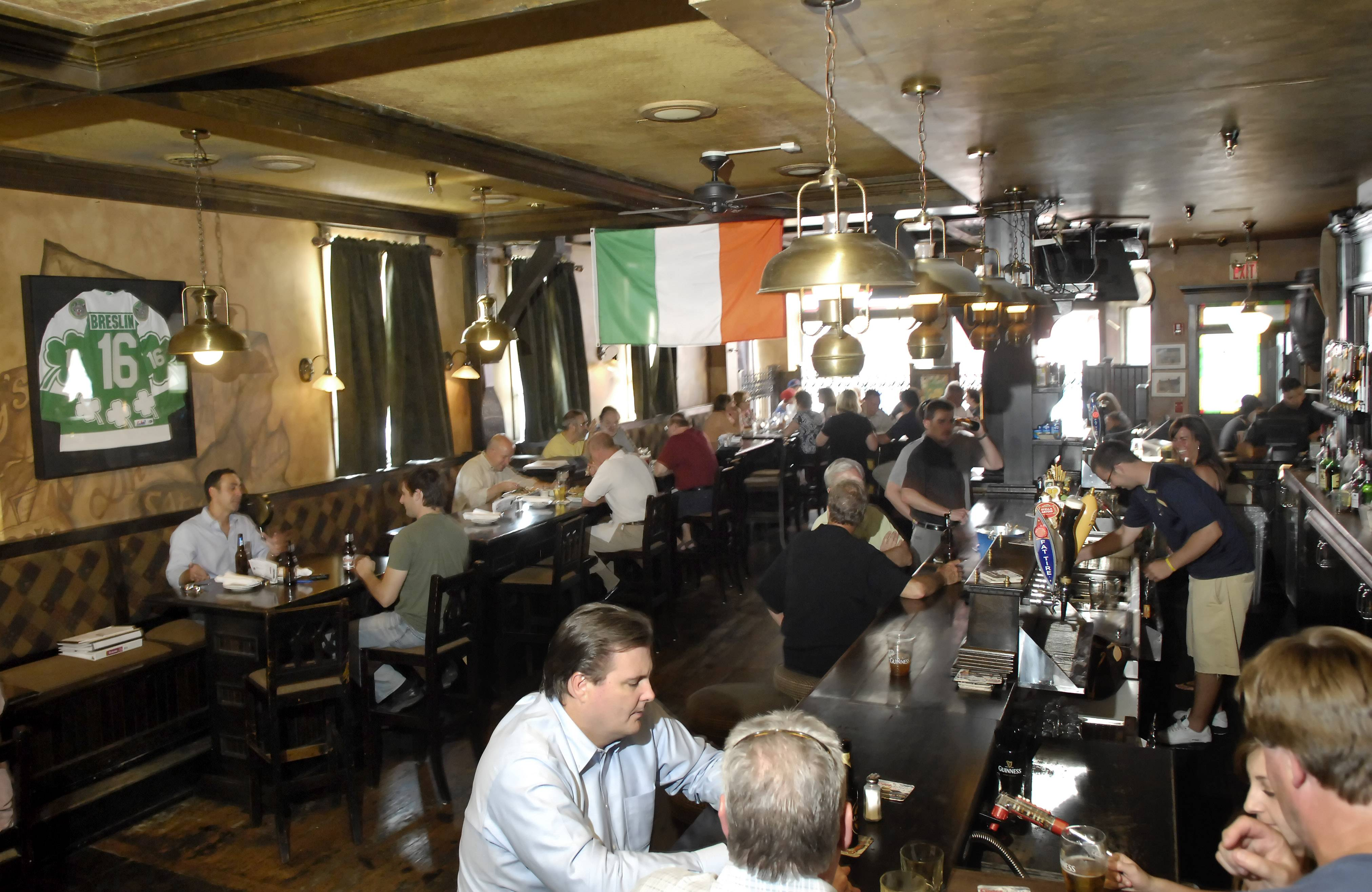 McNally's Traditional Irish Pub at 201 E. Main St., St. Charles.