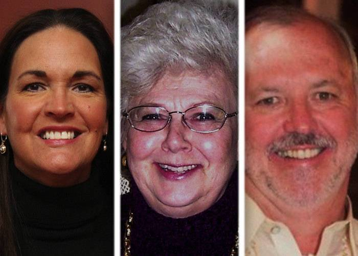 Michele Aavang, from left, Ersel Schuster and Larry W. Smith are candidates in the race for McHenry County Board District 6.