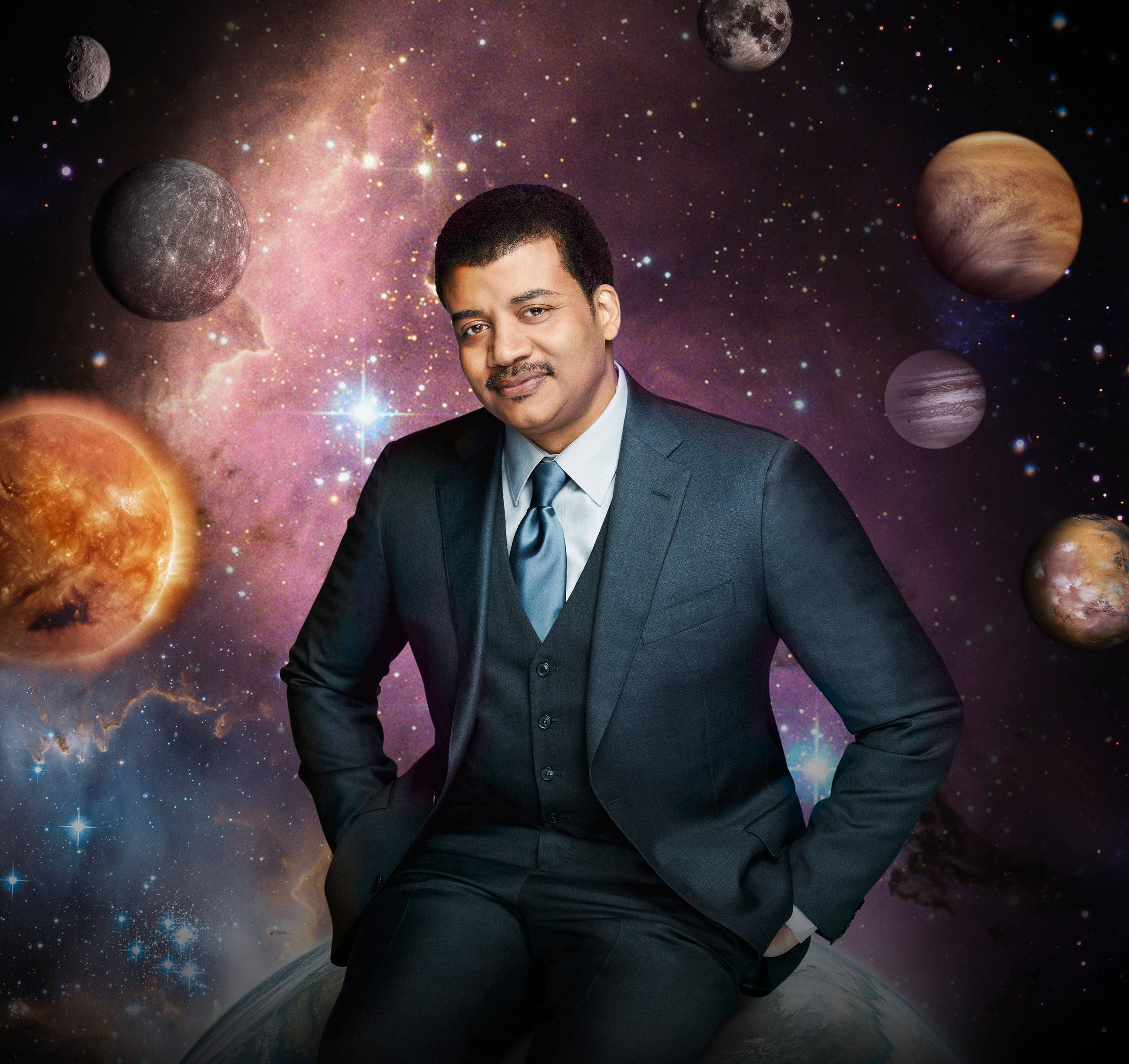 "Well-known astrophysicist Neil deGrasse Tyson is the host of ""Cosmos: A Spacetime Odyssey,"" which is a remake/update of the landmark series that aired on PBS in 1980. It begins at 8 p.m. Sunday on Fox."