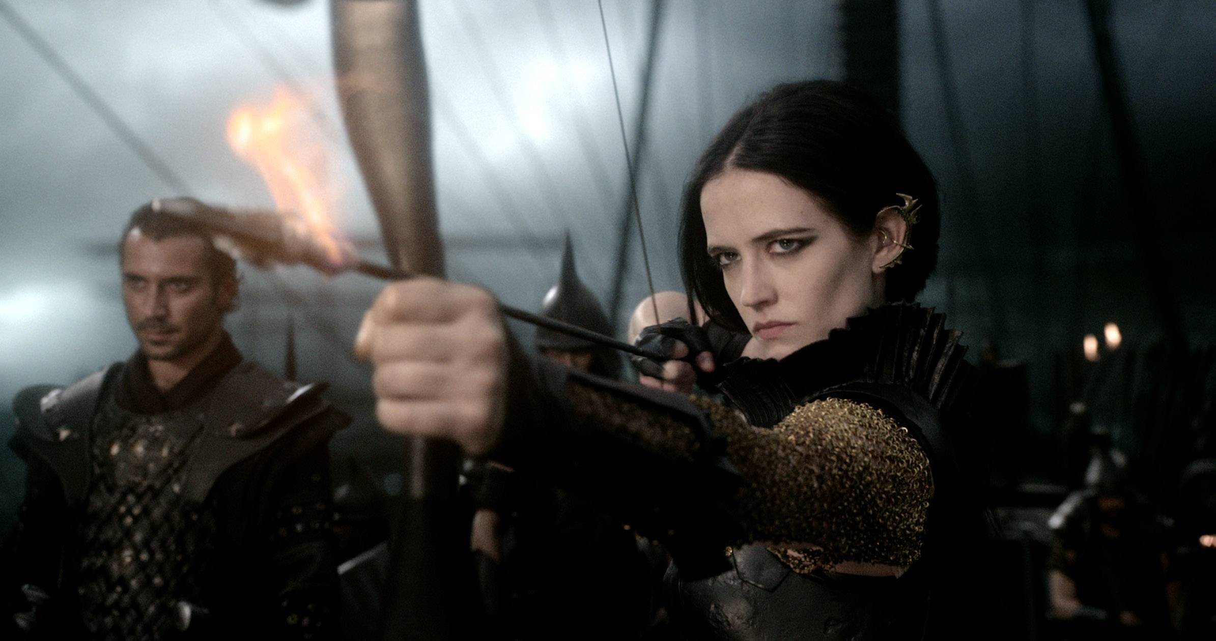 "Eva Green stars in the blockbuster ""300: Rise of an Empire,"" which brought in $45.1 million at the box office."