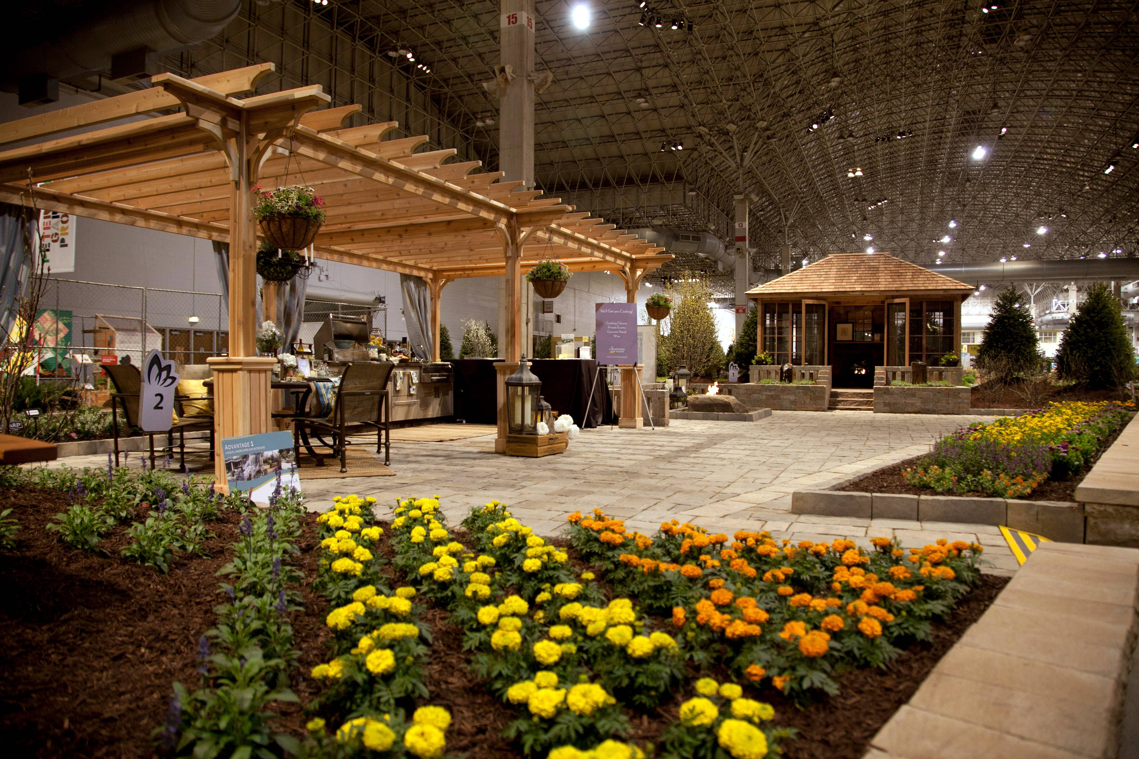This is an overall view of the 2013 Chicago Flower & Garden Show. This year, the show runs March 15-23 at Navy Pier.