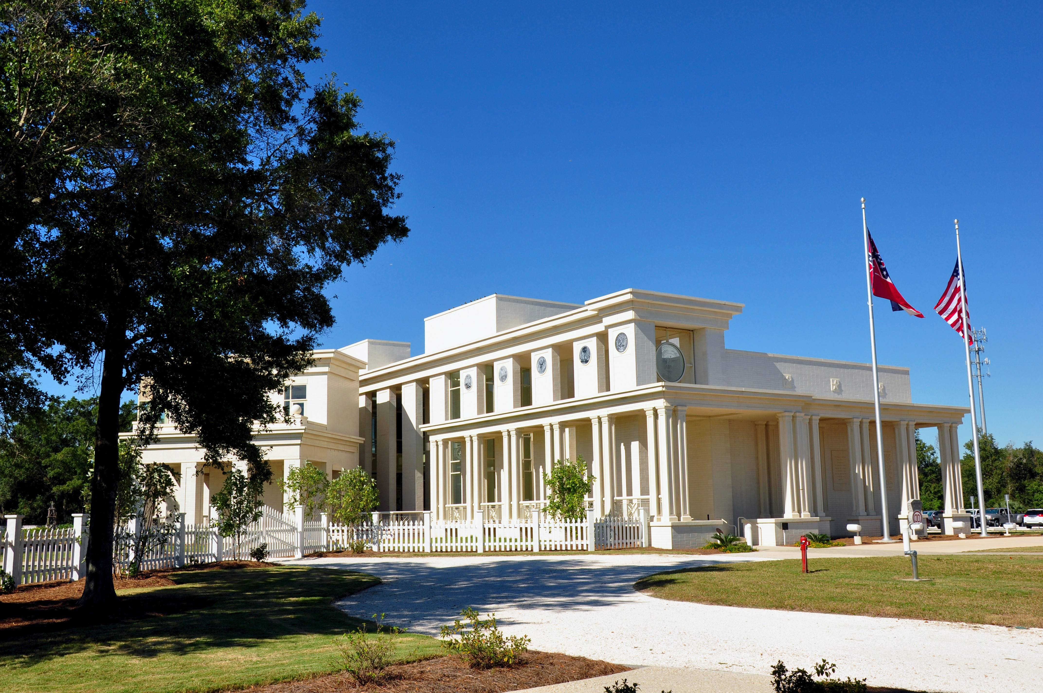 The Jefferson Davis Presidential Library houses the archives of the president of the Confederacy.