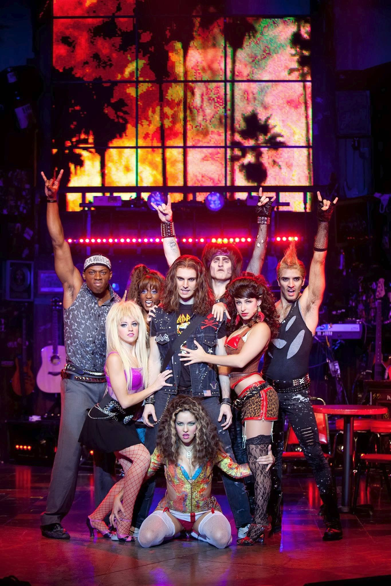 "The 1980s-inspired musical ""Rock of Ages"" returns to Chicago at the Bank of America Theatre from Tuesday through Sunday, March 11-16."