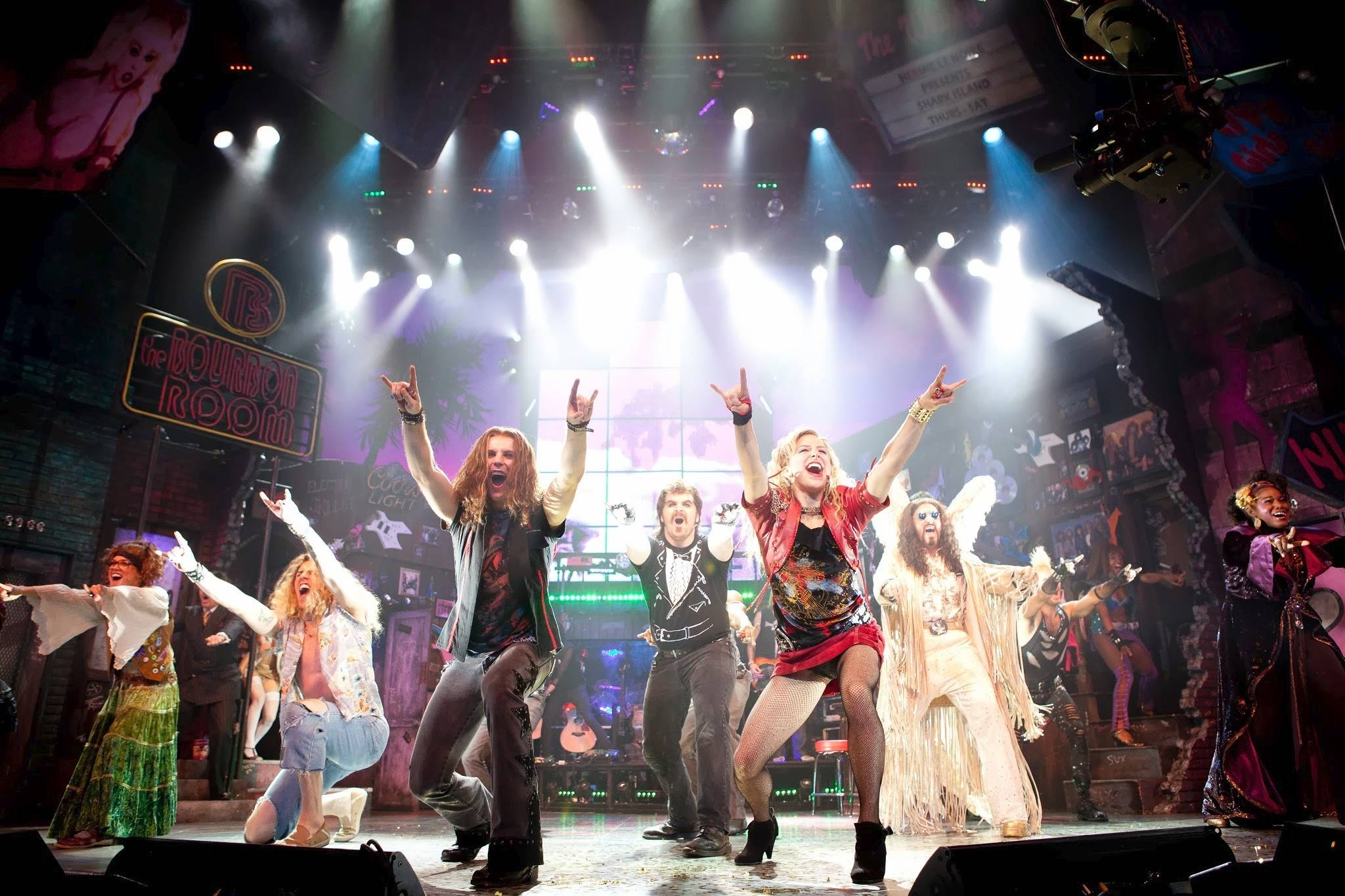 """Rock of Ages"" returns to Chicago from Tuesday through Sunday, March 11-16."