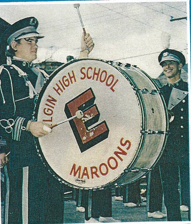 "For most of Elgin High School's existence, the school was simply known as the ""Maroons"" as shown in this 1971 yearbook picture. A committee is looking for a mascot that might tie in with these longtime school colors."