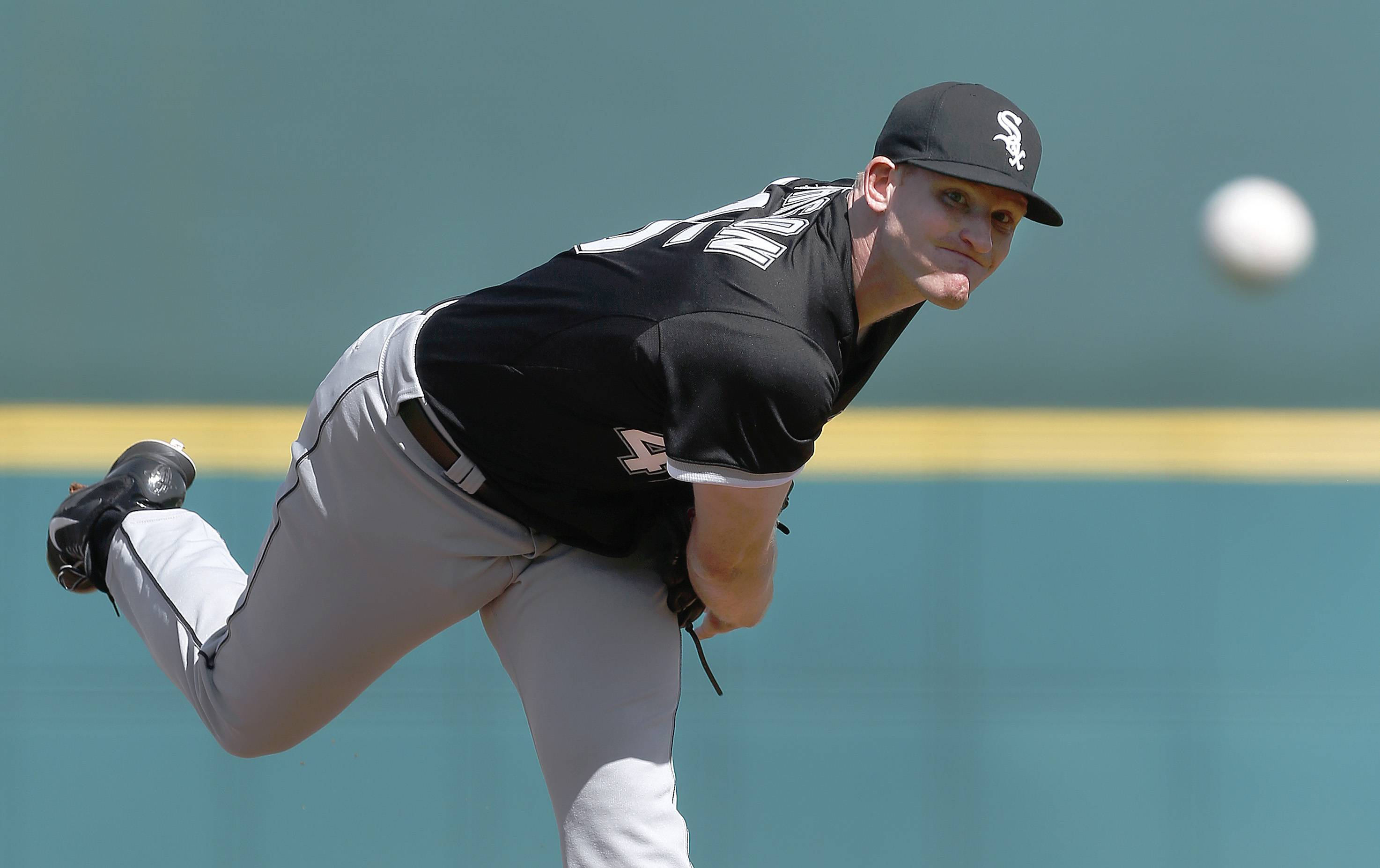 "Right-hander Erik Johnson appears to have earned a spot in the White Sox rotation. ""He does have a strong case,"" said Sox manager Robin Ventura."