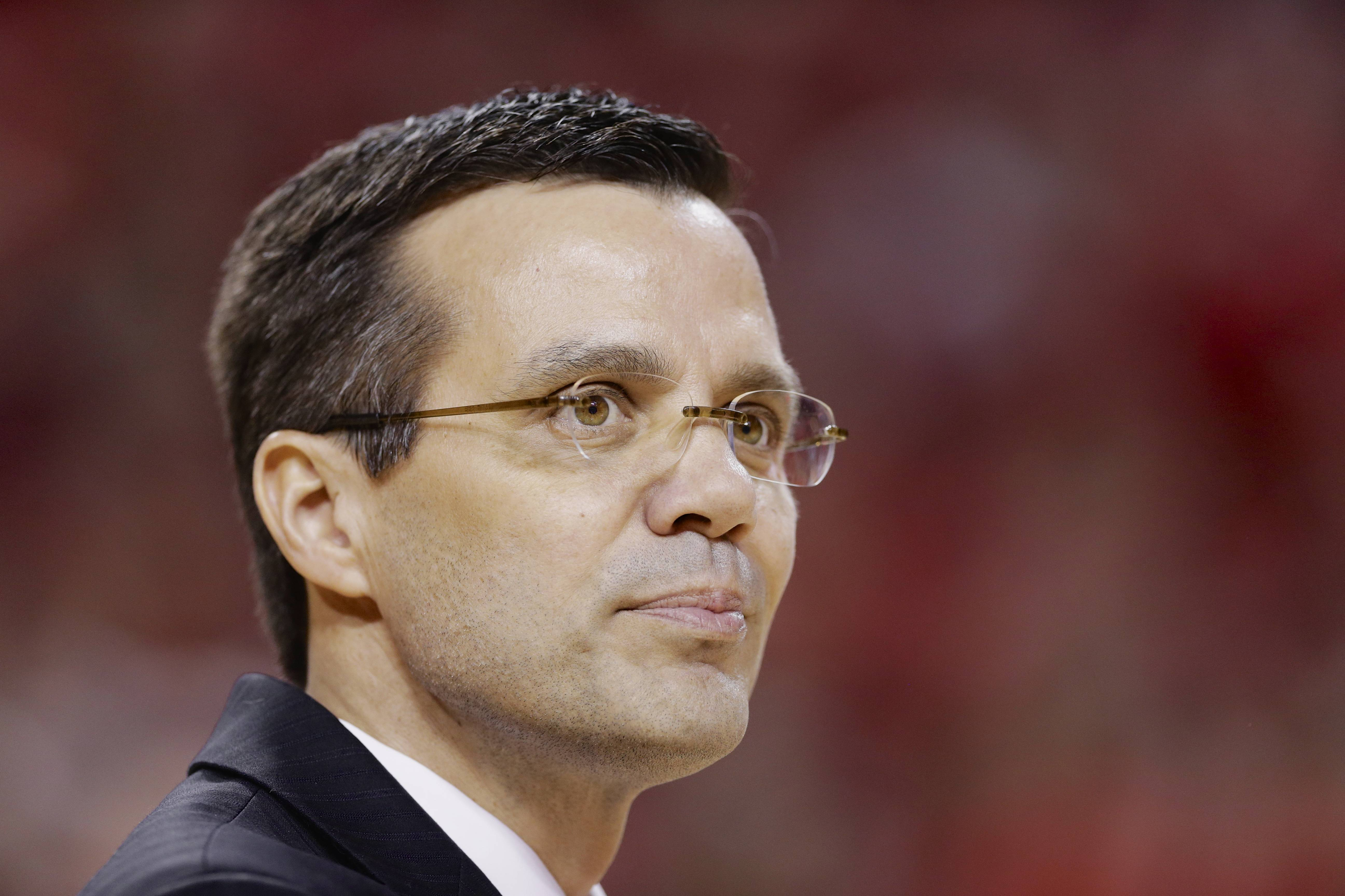 Nebraska coach Tim Miles who tweets at halftime and high-fives students as he enters the arena has helped turn the Cornhuskers around and led the team to a victory against Wisconsin on Sunday in Lincoln, Neb. Nebraska hired Miles because of his reputation for turning around moribund basketball programs. I