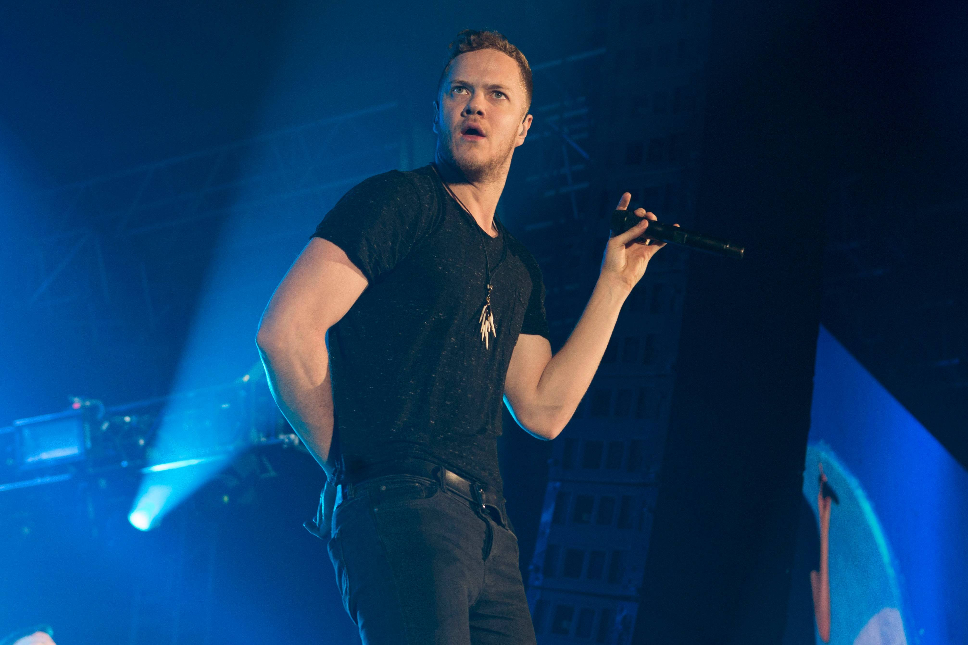 "Dan Reynolds and Imagine Dragons set a record the week of Feb. 17 on the Billboard Hot 100 with the anthemic rock jam, ""Radioactive,"" which has spent 77 weeks, and counting, on the chart. The band headlines Allstate Arena on Thursday, March 13."