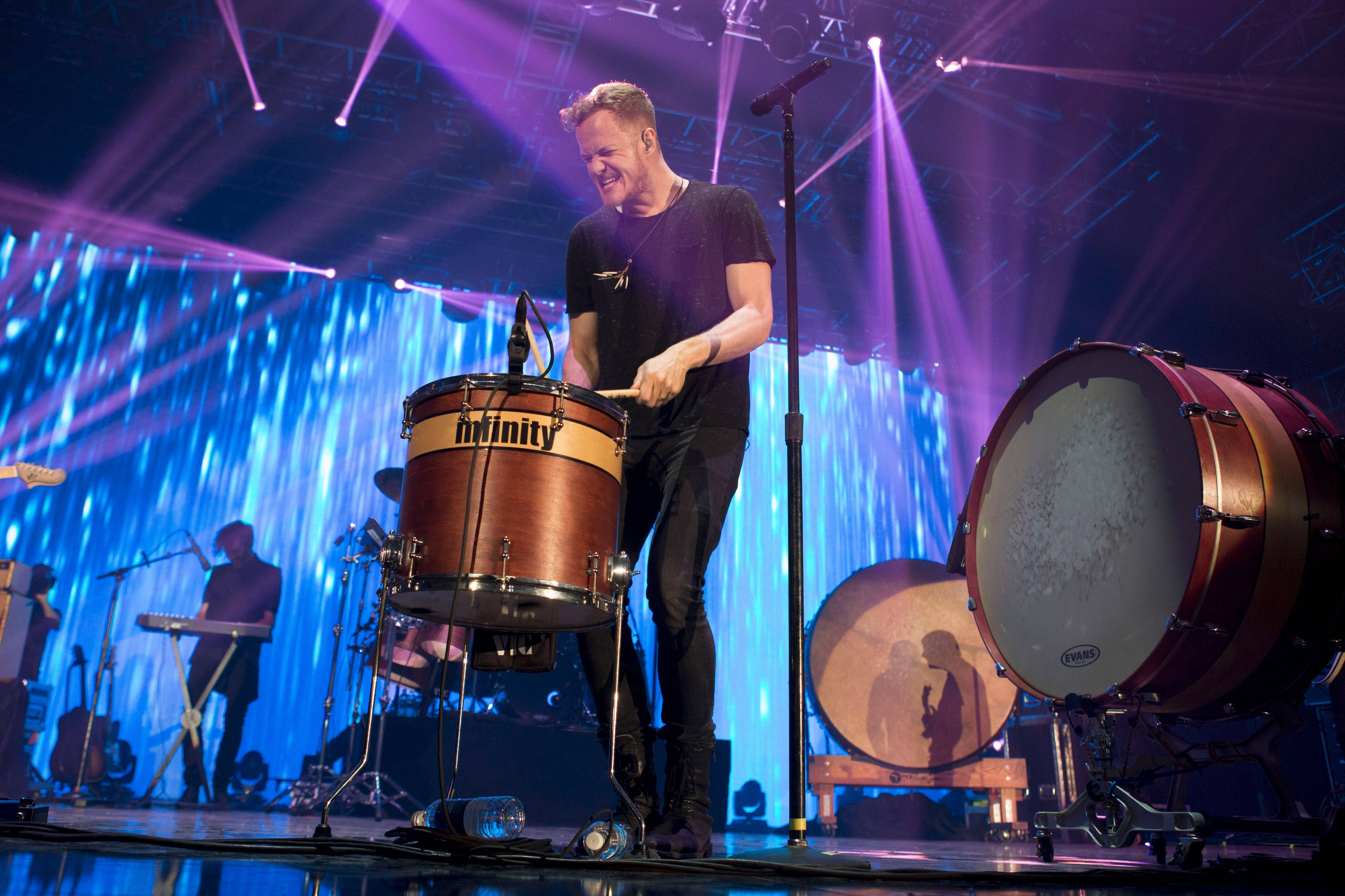 """We always wanted to grow slowly and take our time with things,"" says Dan Reynolds of Imagine Dragons."