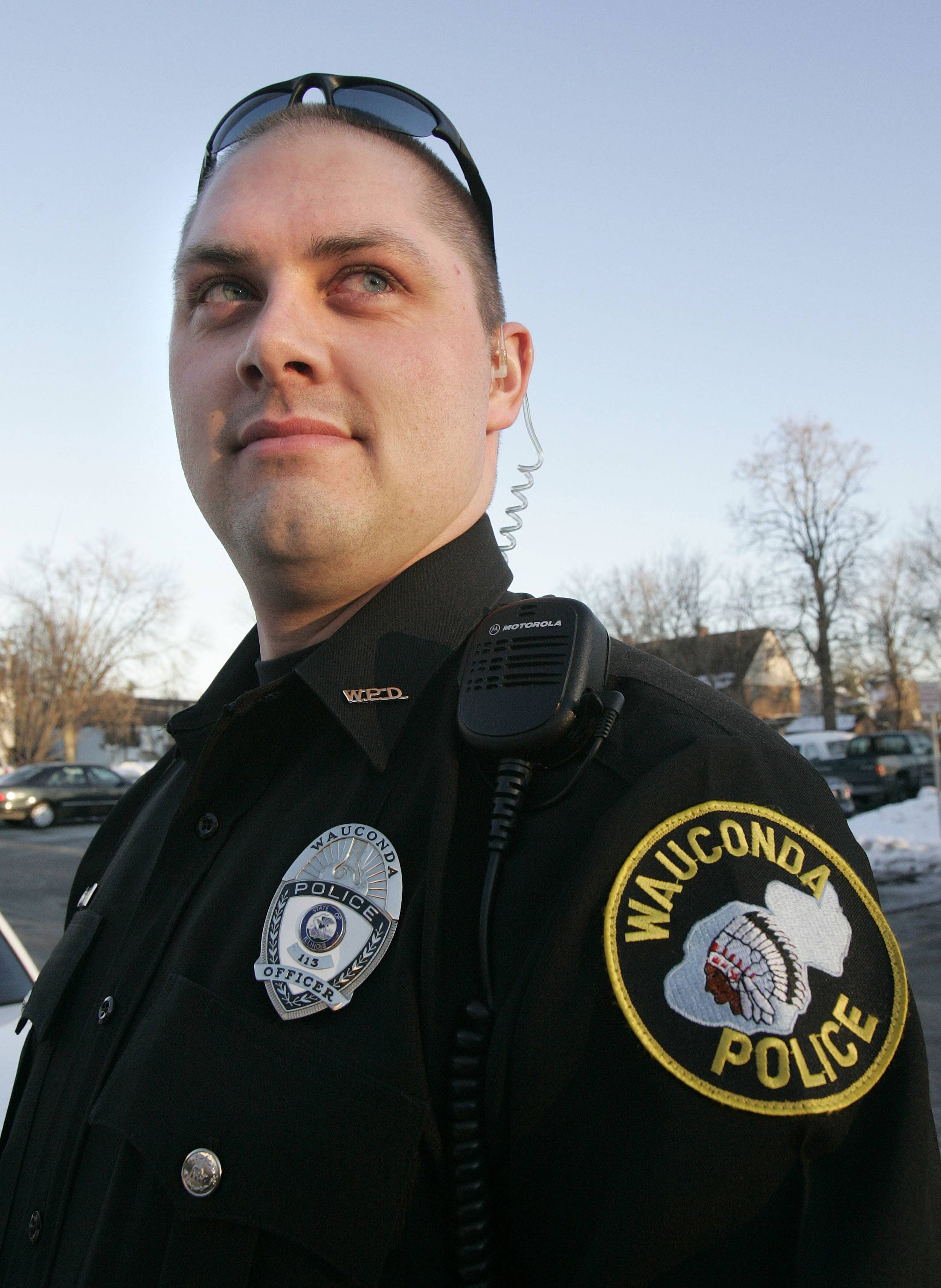 Wauconda police officer Eric Schultz died of cancer on Sunday.