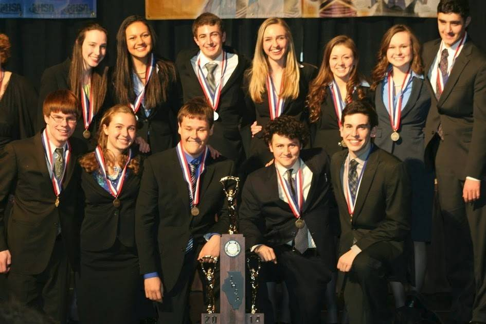The Wheaton Warrenville South High School speech team won the IHSA state championship last month for the first time since 2002.