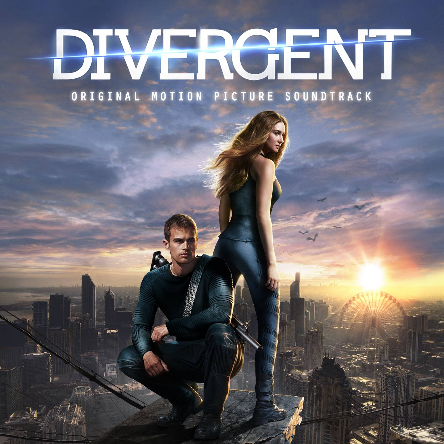 "The motion picture soundtrack for ""Divergent"" ends up a mixed bag of tracks."