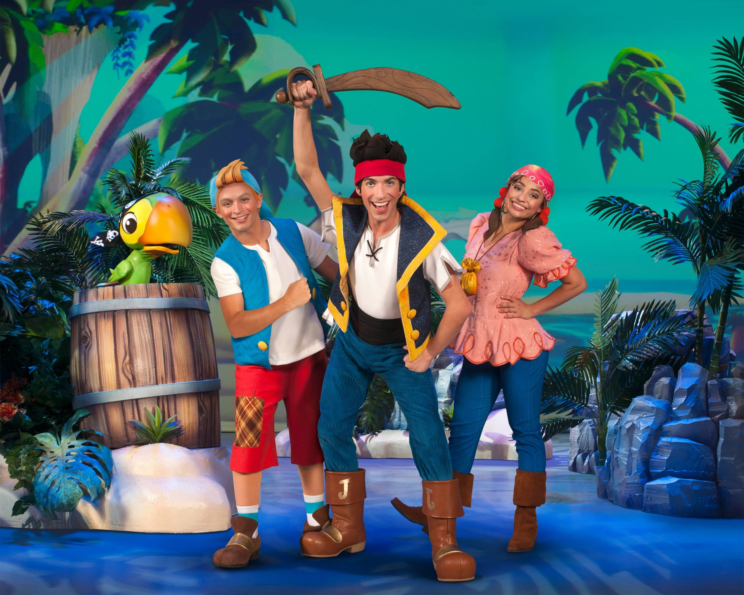 """Disney Junior Live on Tour! Pirate and Princess Adventure"" plays the Rosemont Theatre from Friday through Monday, March 14-17."