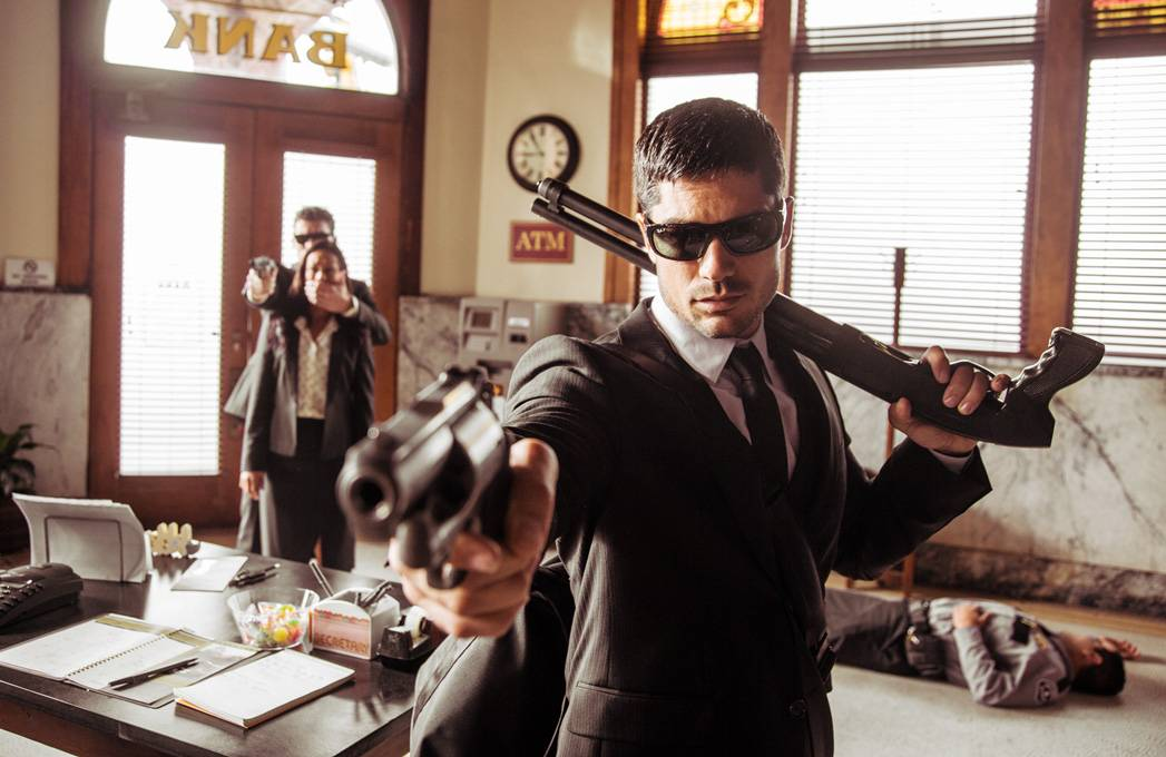 "D.J. Cotrona plays bank robber Seth Gecko in the new show ""From Dusk Till Dawn: The Series"" on the El Rey Network."
