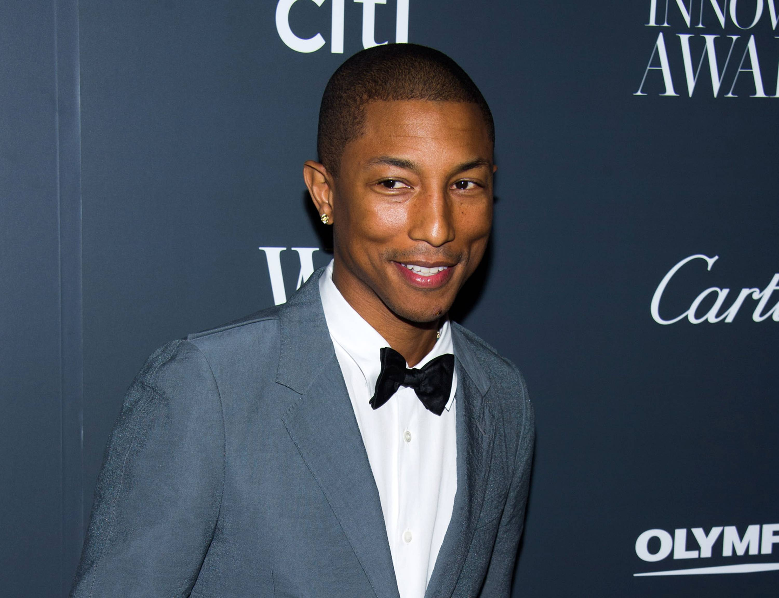 Pharrell Williams' favorite producing collaborations include his work with Usher and Daft Punk.