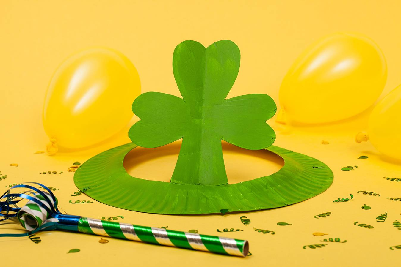 From leprechaun beards to shamrock hats, a few fast crafts can crank up the fun for a St. Patrick's Day parade or party.