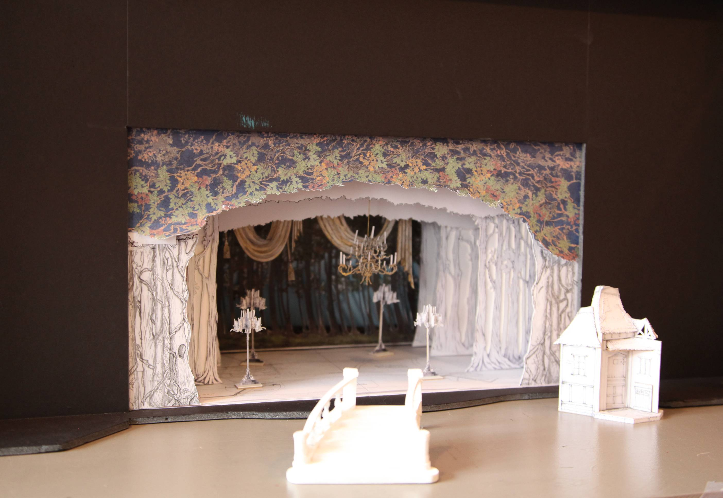 "Set designer Anna Louizos has created a website to sell items from Broadway online, like this miniature proposal for the touring production of ""Rodgers + Hammerstein's Cinderella."""