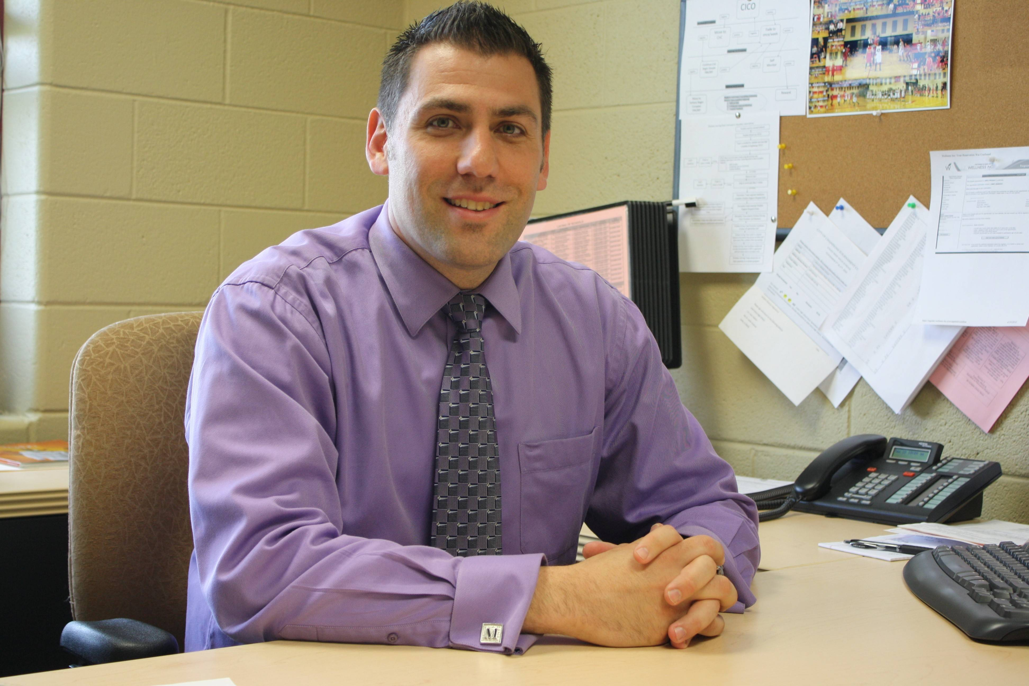 Jeff Mitchem will be the new principal of District 200's Lincoln Elementary School next school year.