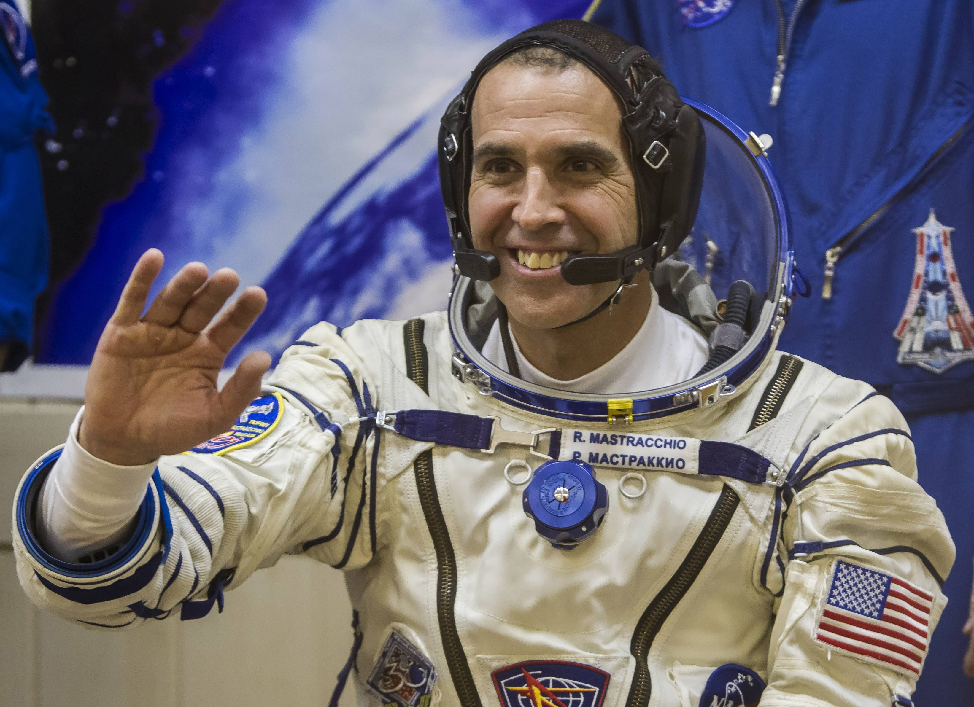 "U.S. astronaut Rick Mastracchio, a crew member of the International Space Station, will serve as an onboard correspondent for a National Geographic special called ""Live From Space,"" airing Friday, March 14 on the National Geographic Channel."