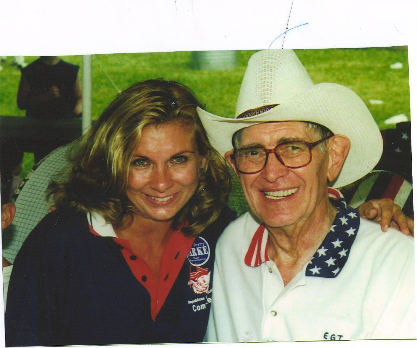 Cheryl Axley and the late Carl Hansen