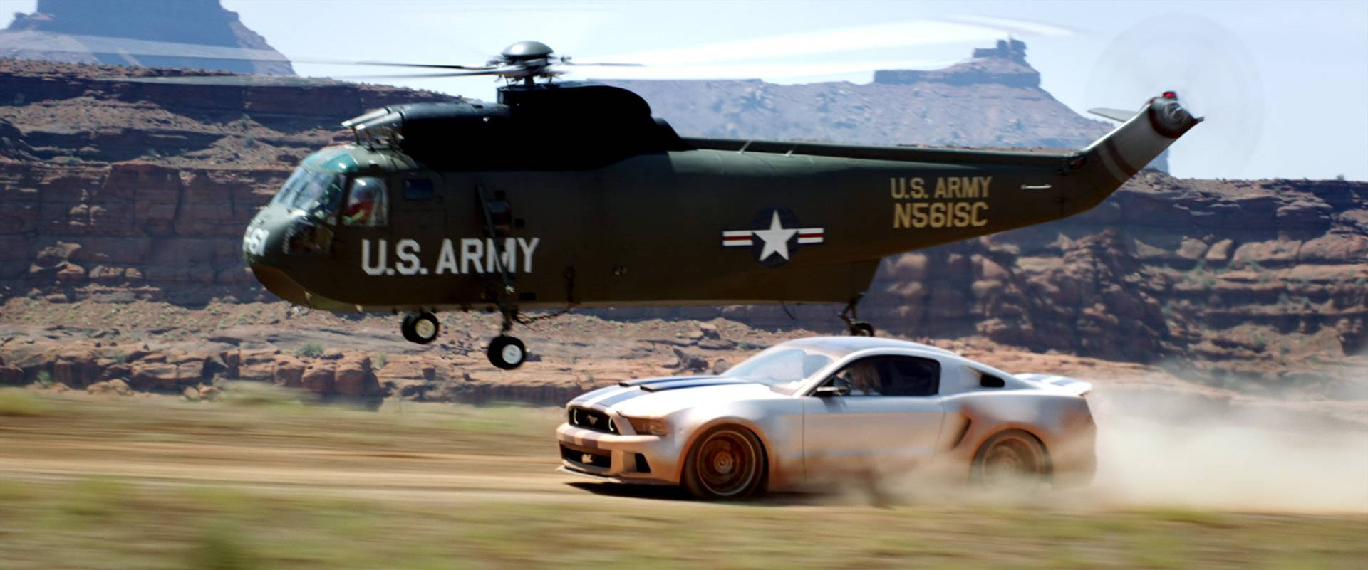 "The Mustang plays a pivotal part in many ""Need for Speed"" chase scenes."