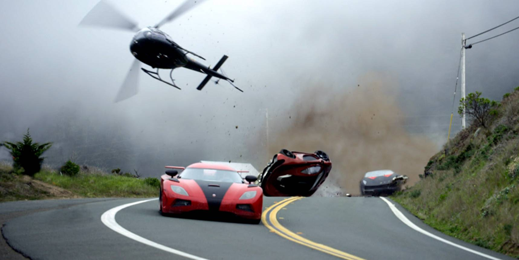 "Like the ""Need for Speed"" video game series, a few cars get banged up in the movie, which opens Friday."