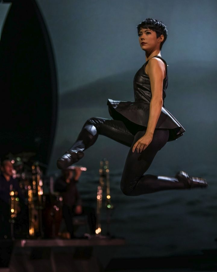 "Ciara Sexton performs in ""Heartbeat of Home,"" a new music and dance spectacular from the producers of ""Riverdance."" It's at the Oriental Theatre in Chicago through Sunday."